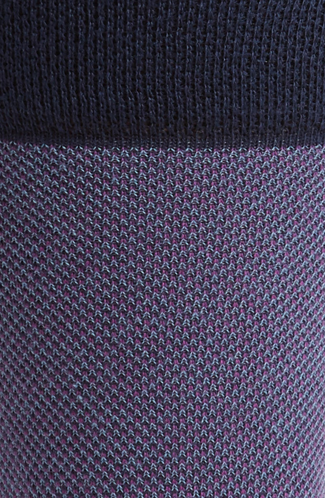 Joaquim Solid Socks,                             Alternate thumbnail 2, color,                             Purple