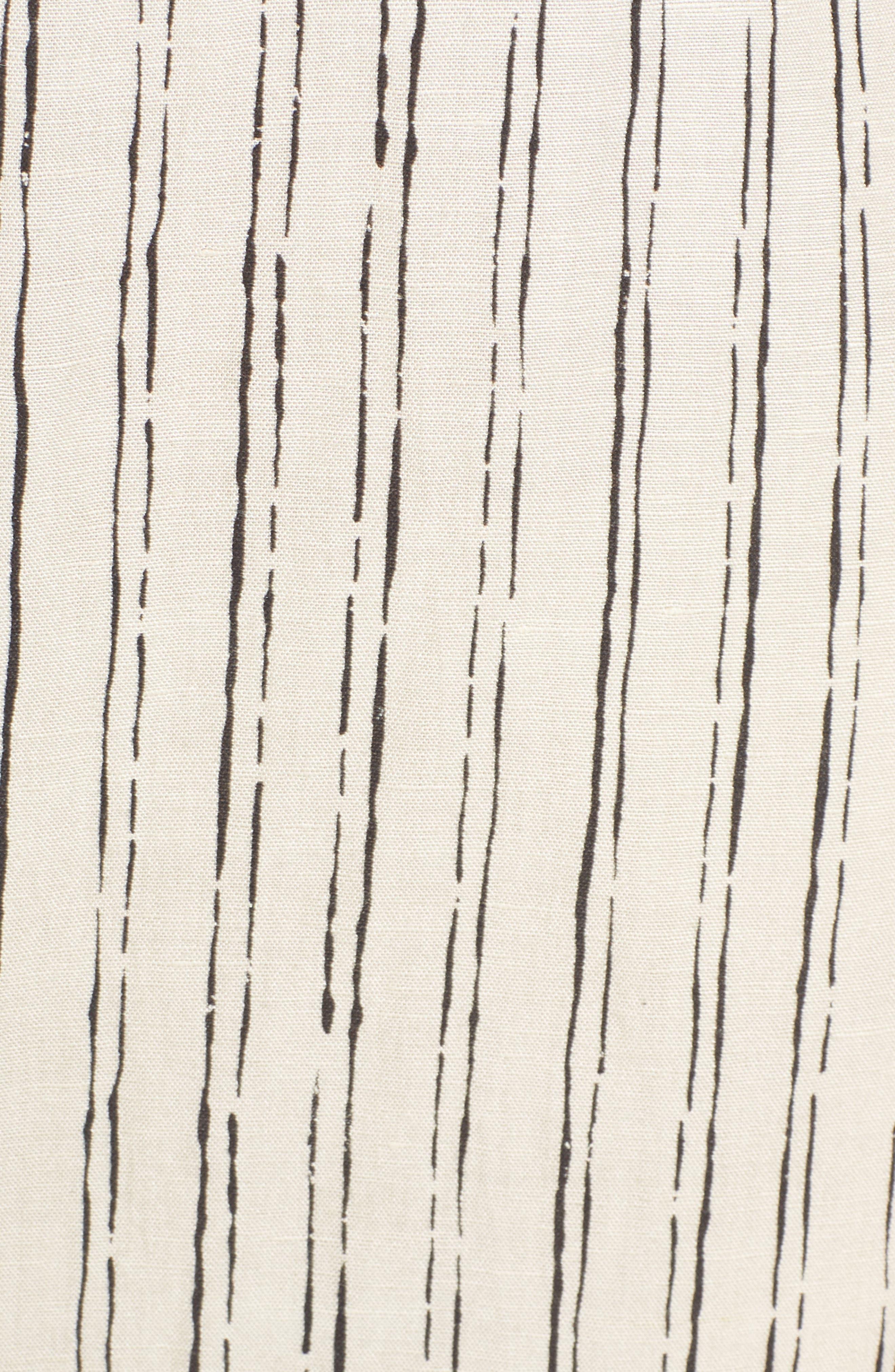 Loosen Up Linen Blend Sundress,                             Alternate thumbnail 5, color,                             White Cap