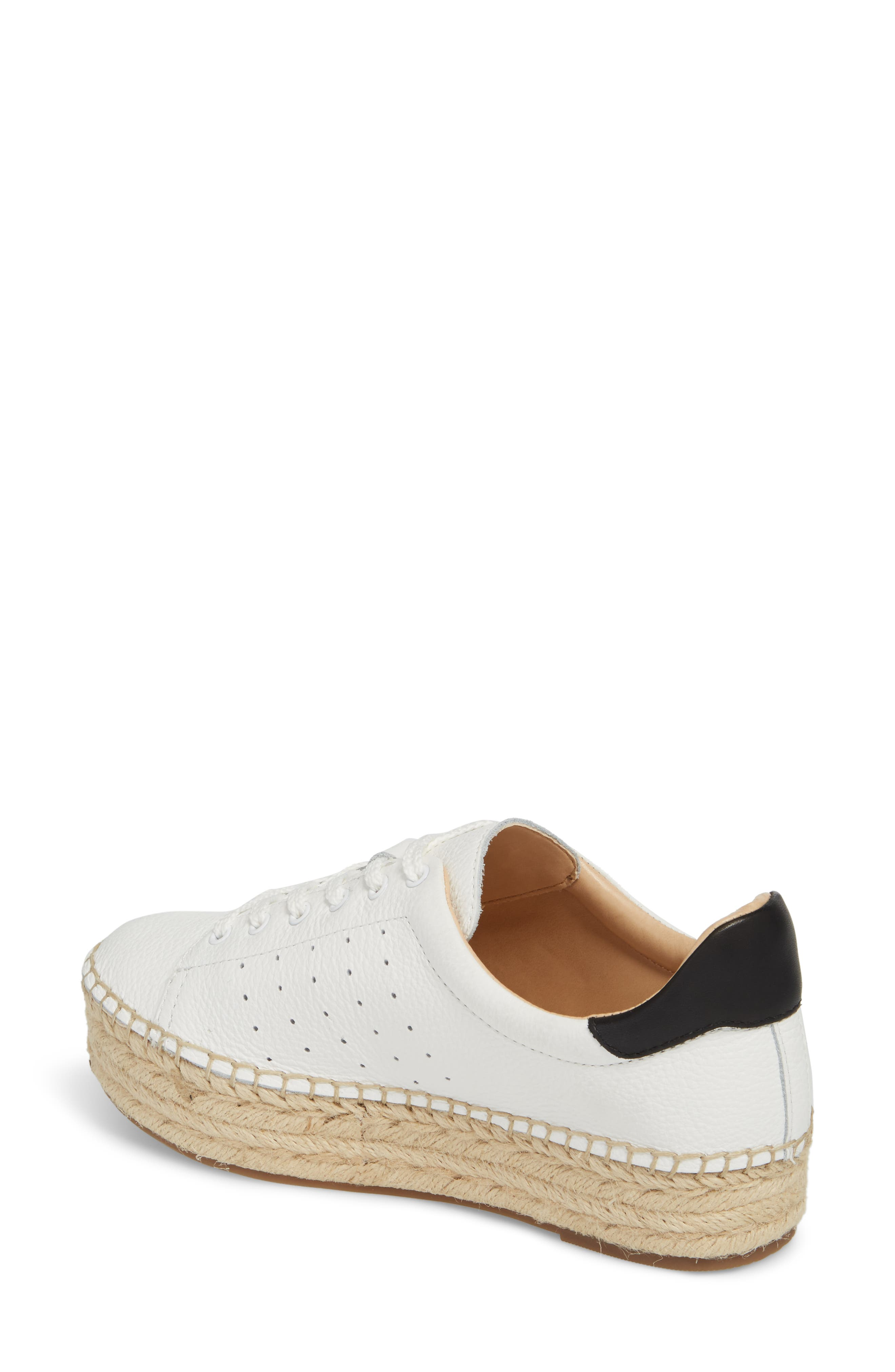 Jinnie Espadrille Sneaker,                             Alternate thumbnail 2, color,                             Picket Fence