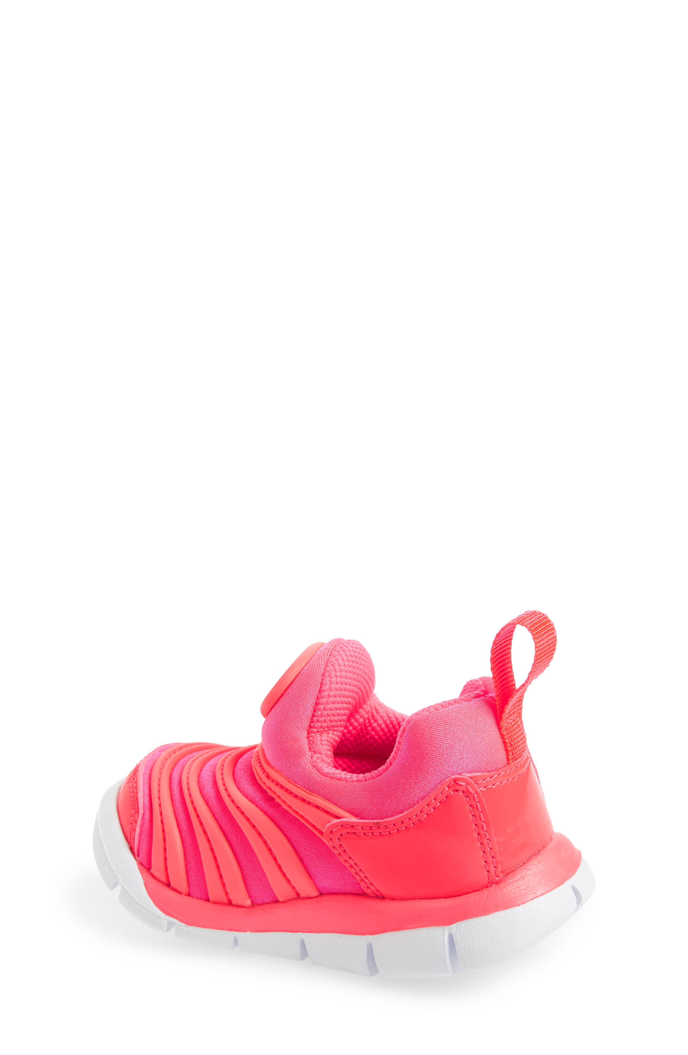 Dynamo Free Sneaker,                             Alternate thumbnail 2, color,                             Racer Pink/ Silver/ Hot Punch