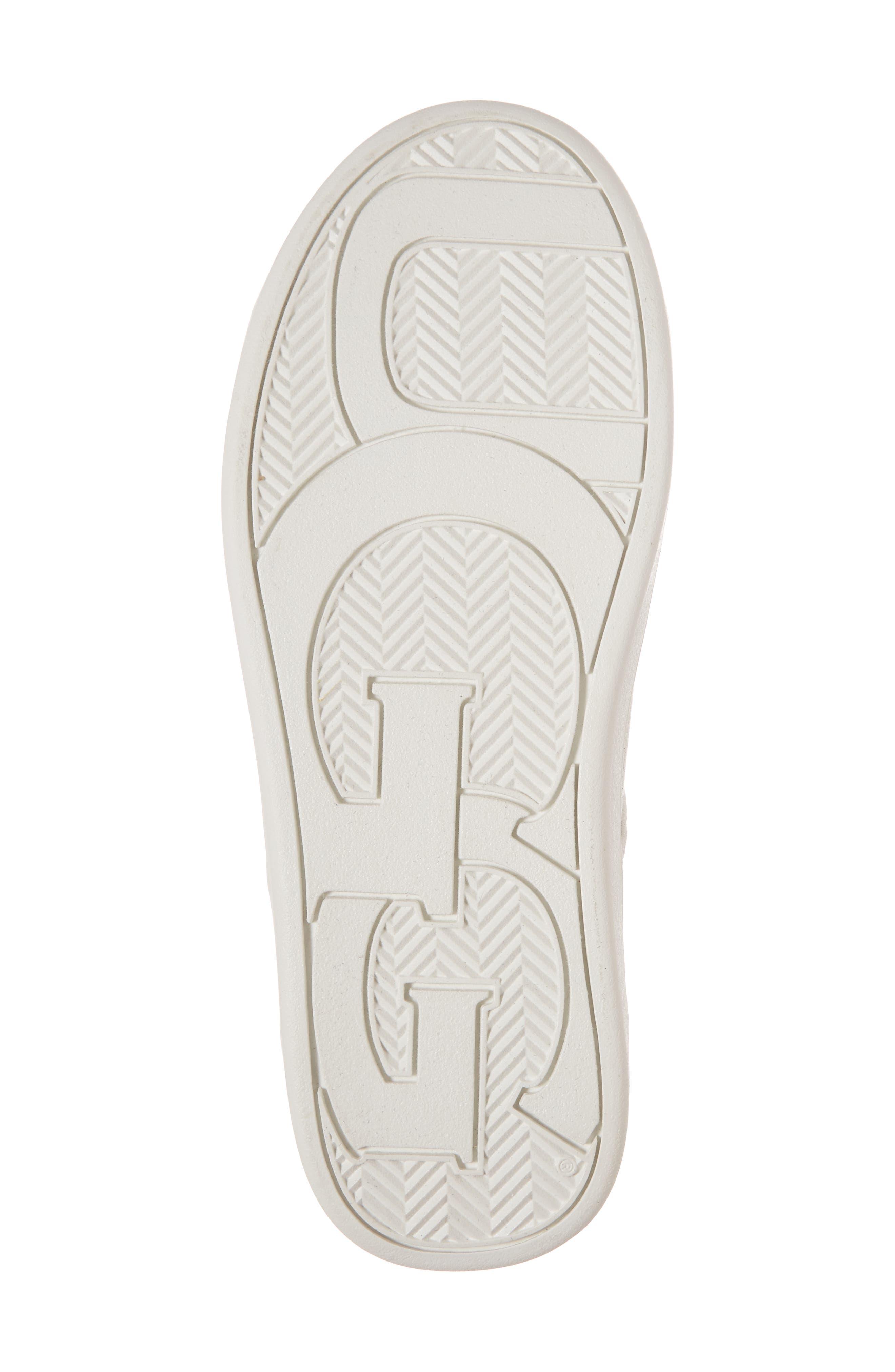 Irvin Sparkles Metallic Sneaker,                             Alternate thumbnail 6, color,                             Silver