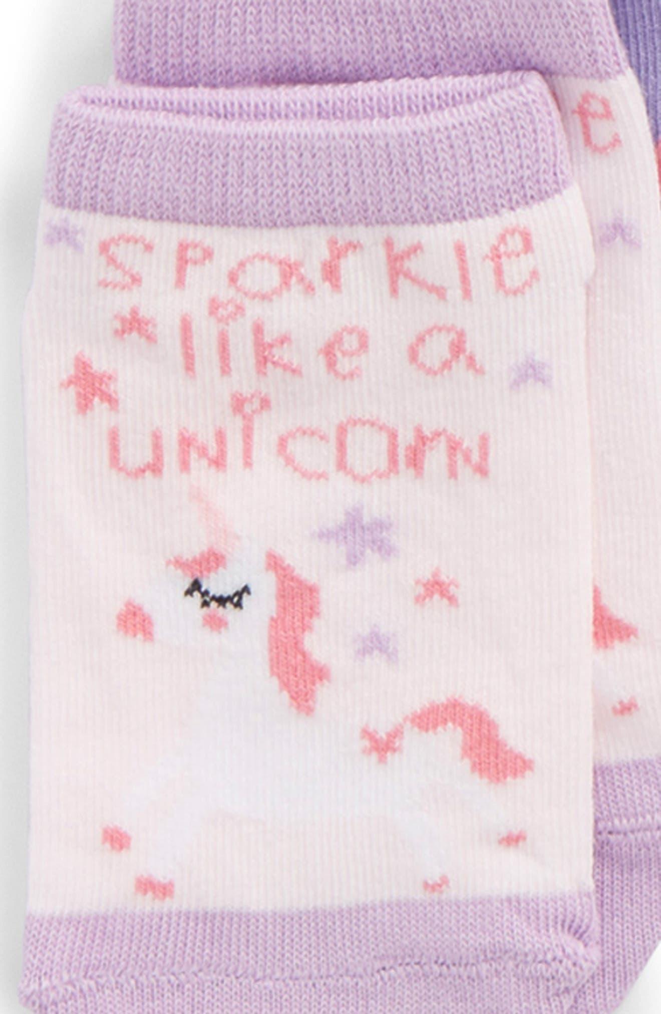 6-Pack Assorted Low Cut Socks,                             Alternate thumbnail 2, color,                             Grey/Purple Multi