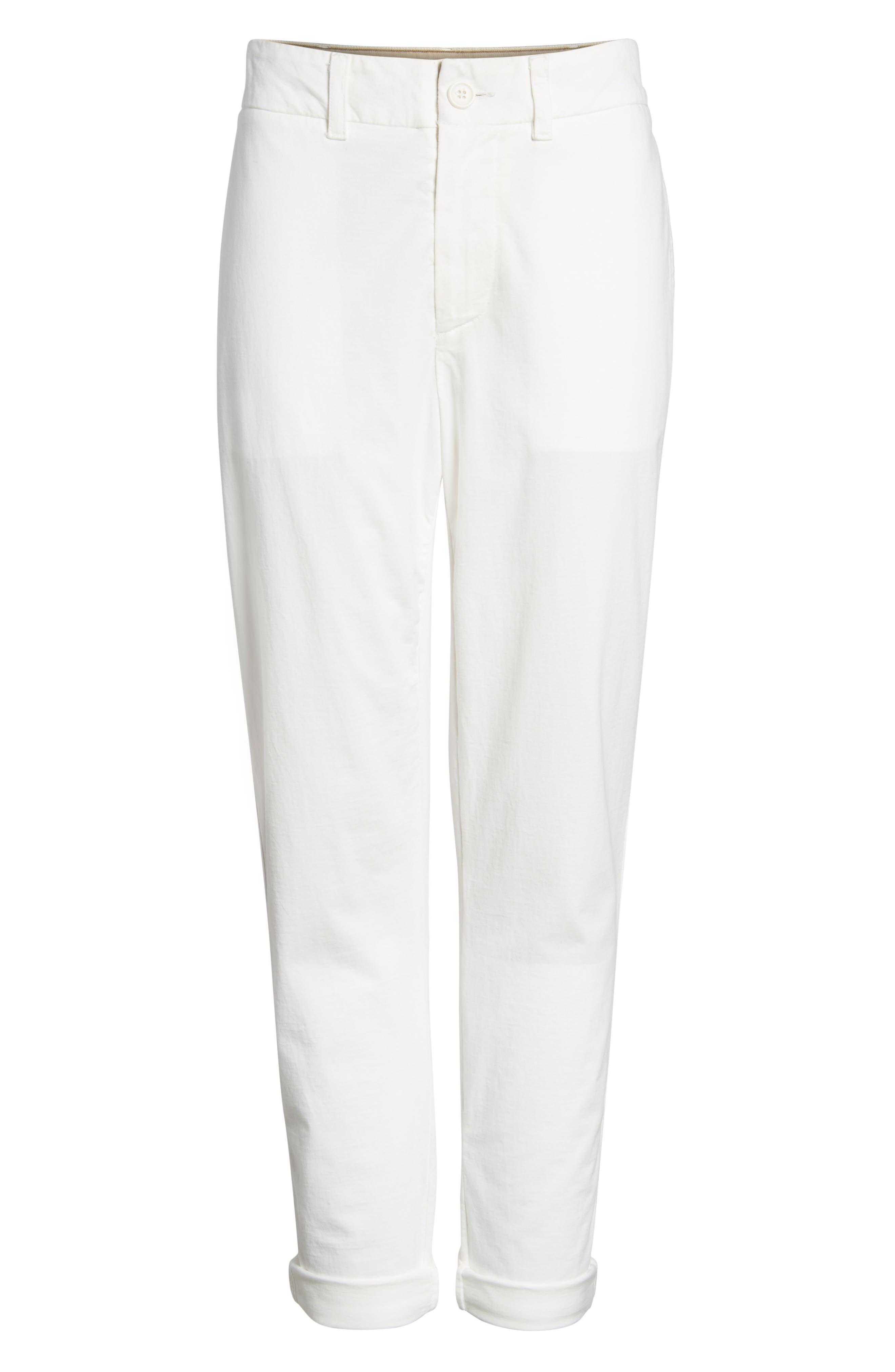 Full Surplus Jersey Pants,                             Alternate thumbnail 7, color,                             White