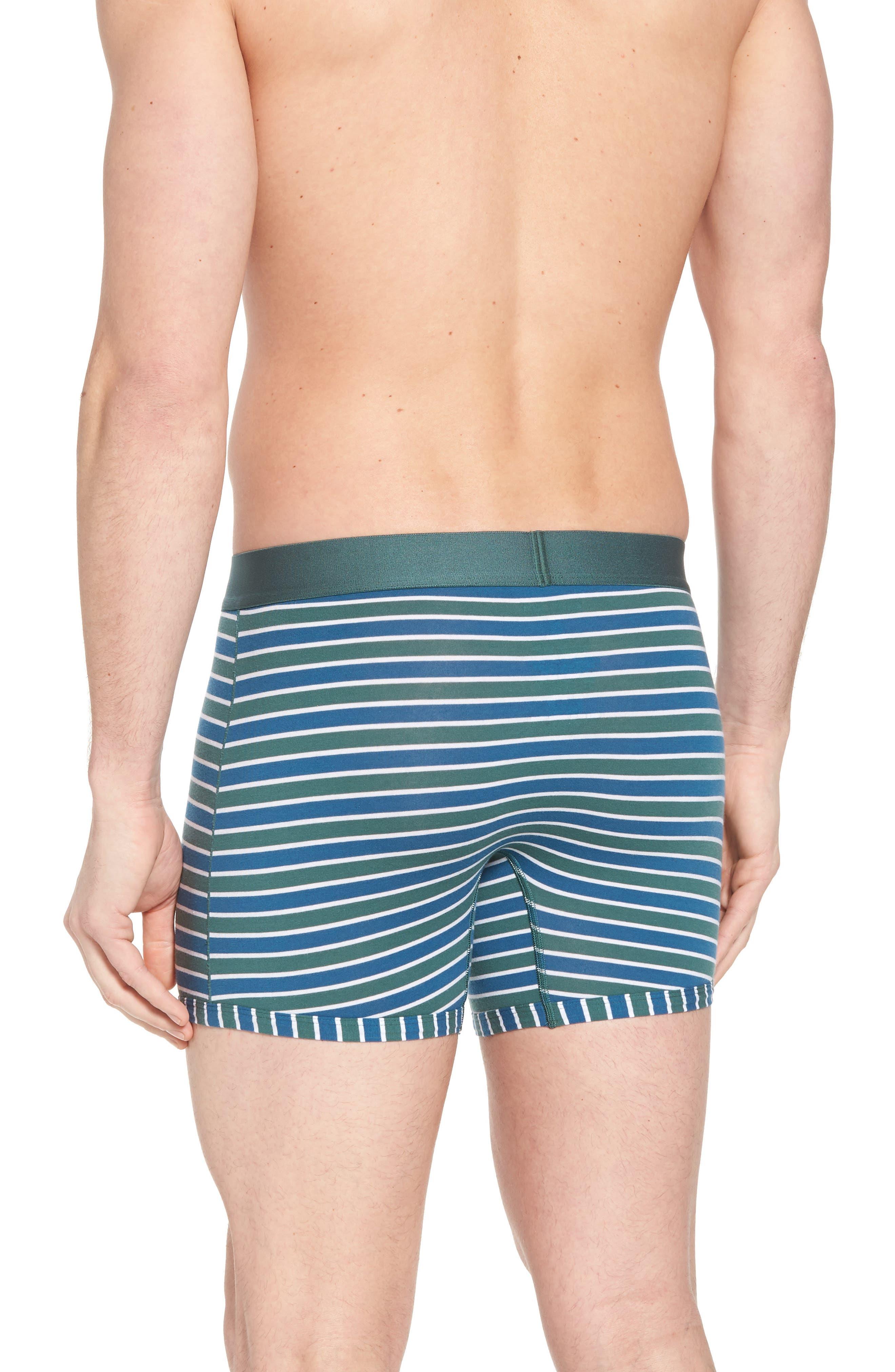 Team Stripe Trunks,                             Alternate thumbnail 2, color,                             Agave/ White/ Deep Blue