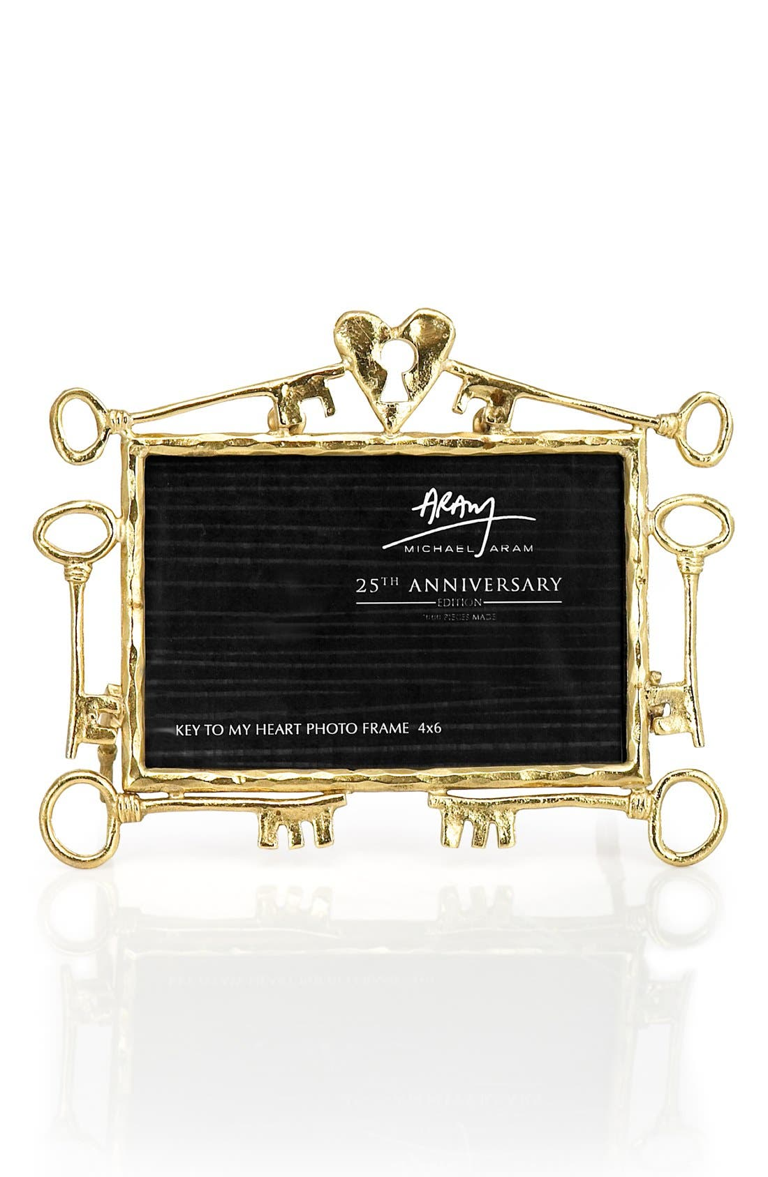 Main Image - Michael Aram 'Key to My Heart - 25th Anniversary' Picture Frame (Limited Edition)