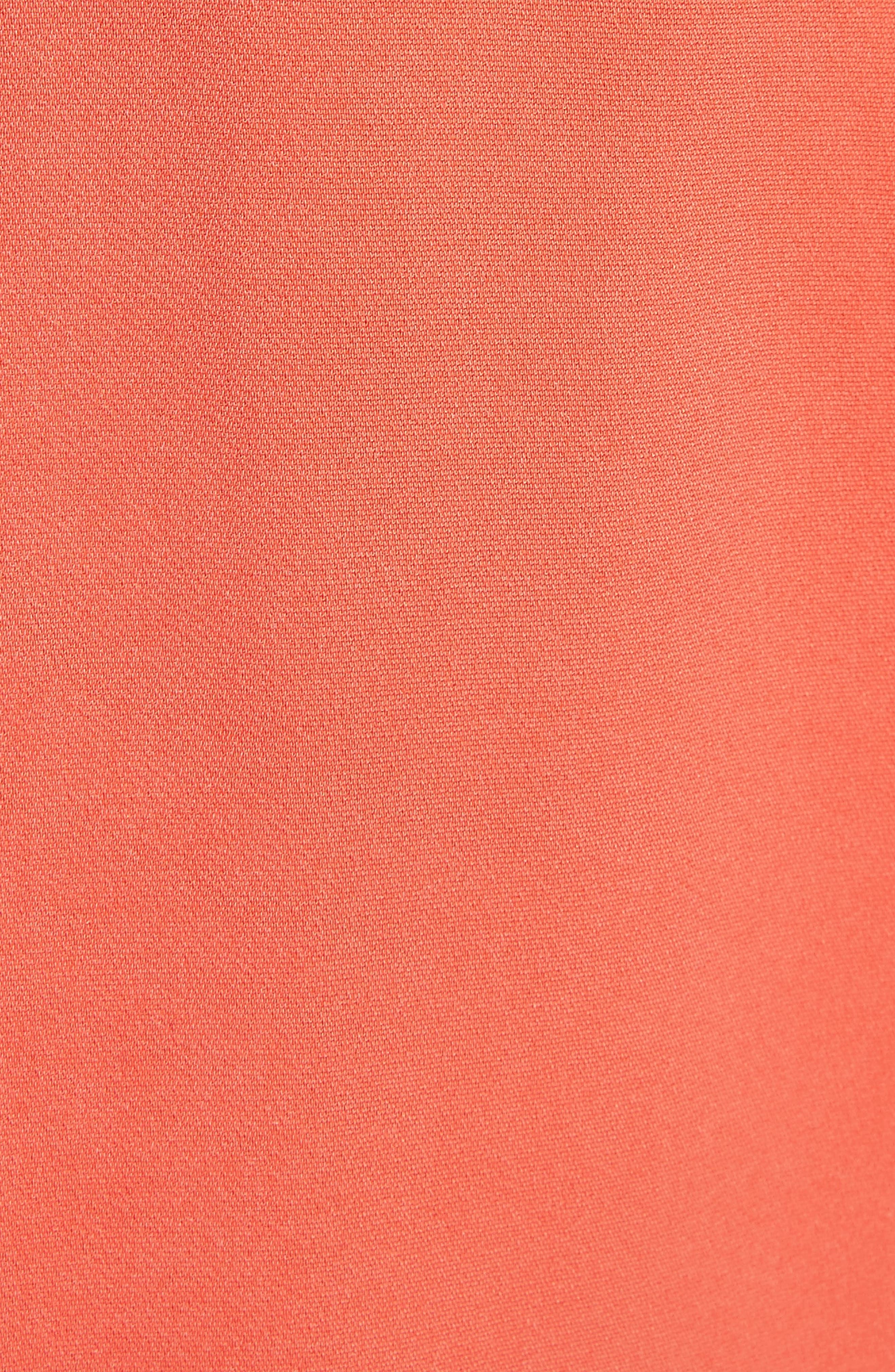 Belted Trousers,                             Alternate thumbnail 5, color,                             Blood Orange