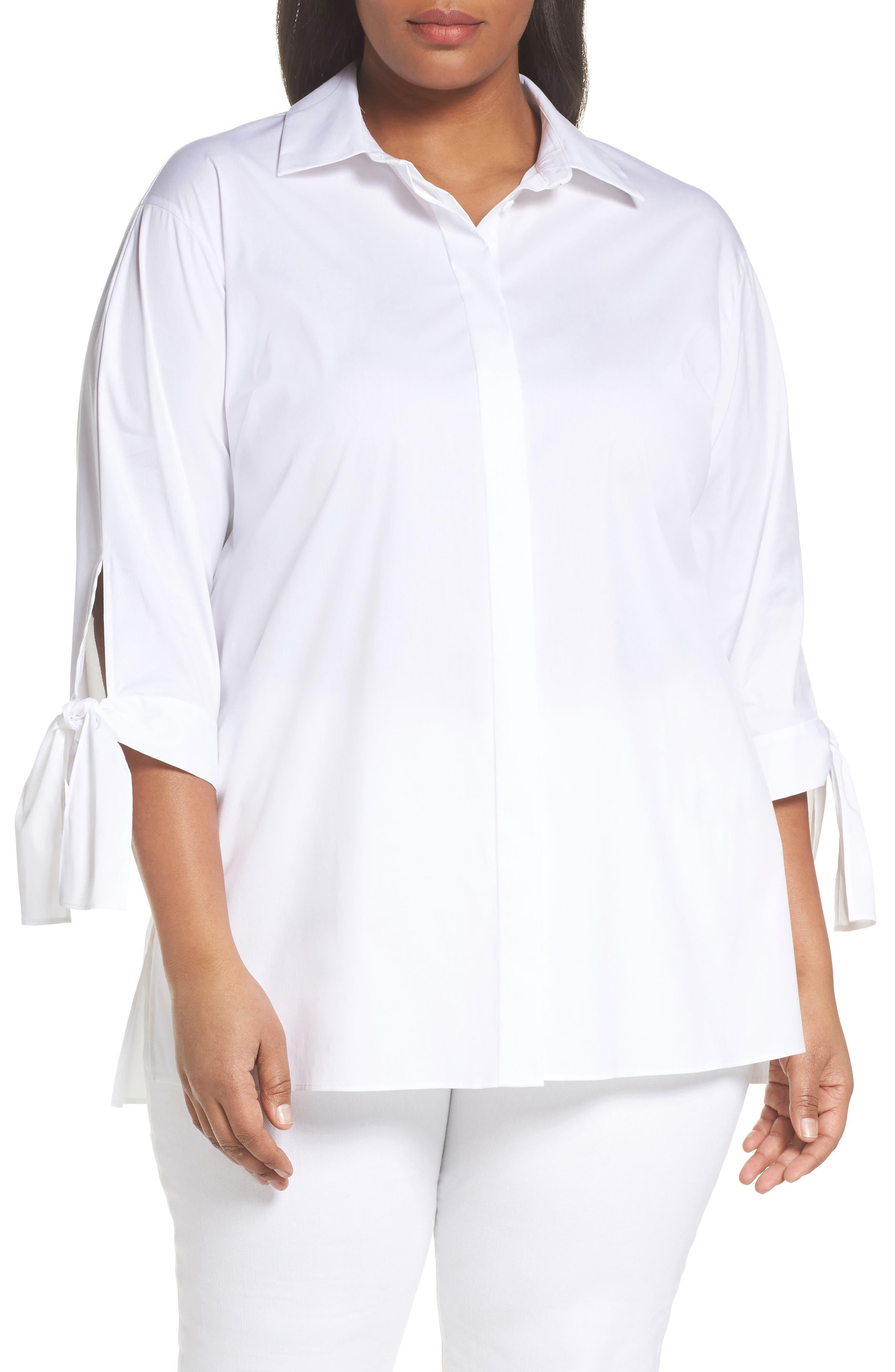 Saige Blouse,                         Main,                         color, White