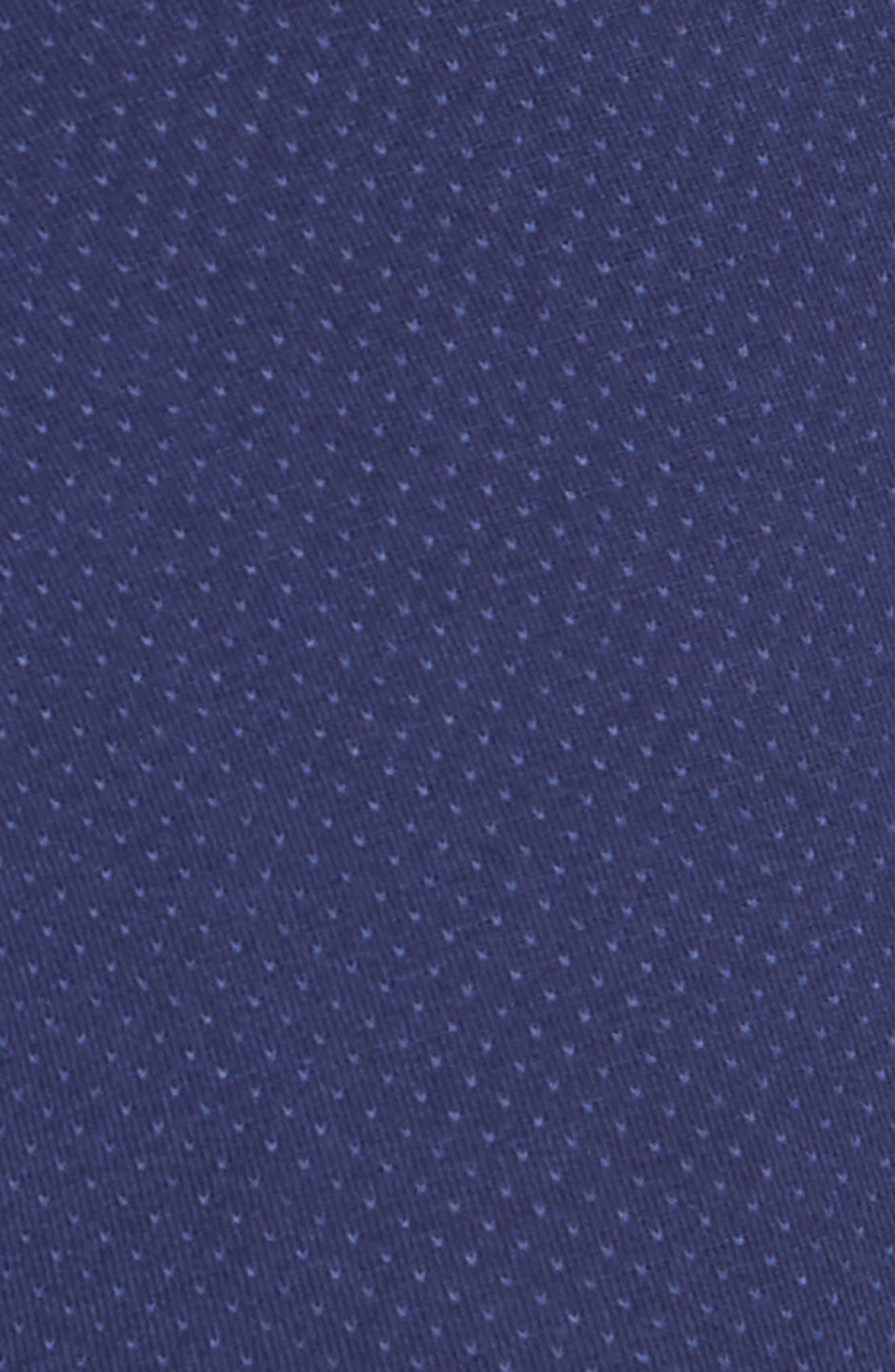 Structure Cotton Blend Trunks,                             Alternate thumbnail 5, color,                             Blue