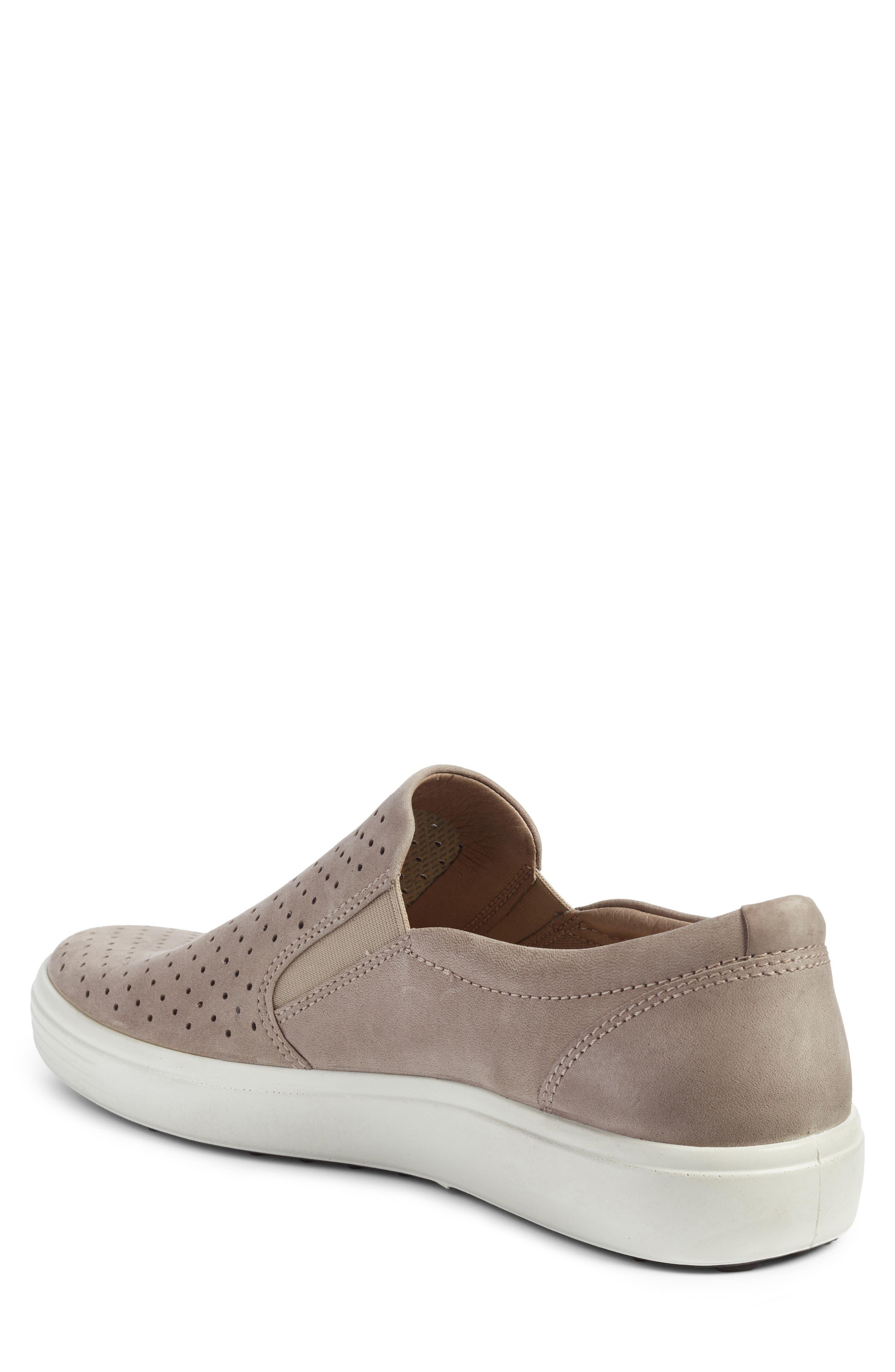 Soft 7 Retro Slip-On Sneaker,                             Alternate thumbnail 2, color,                             Moonrock Leather