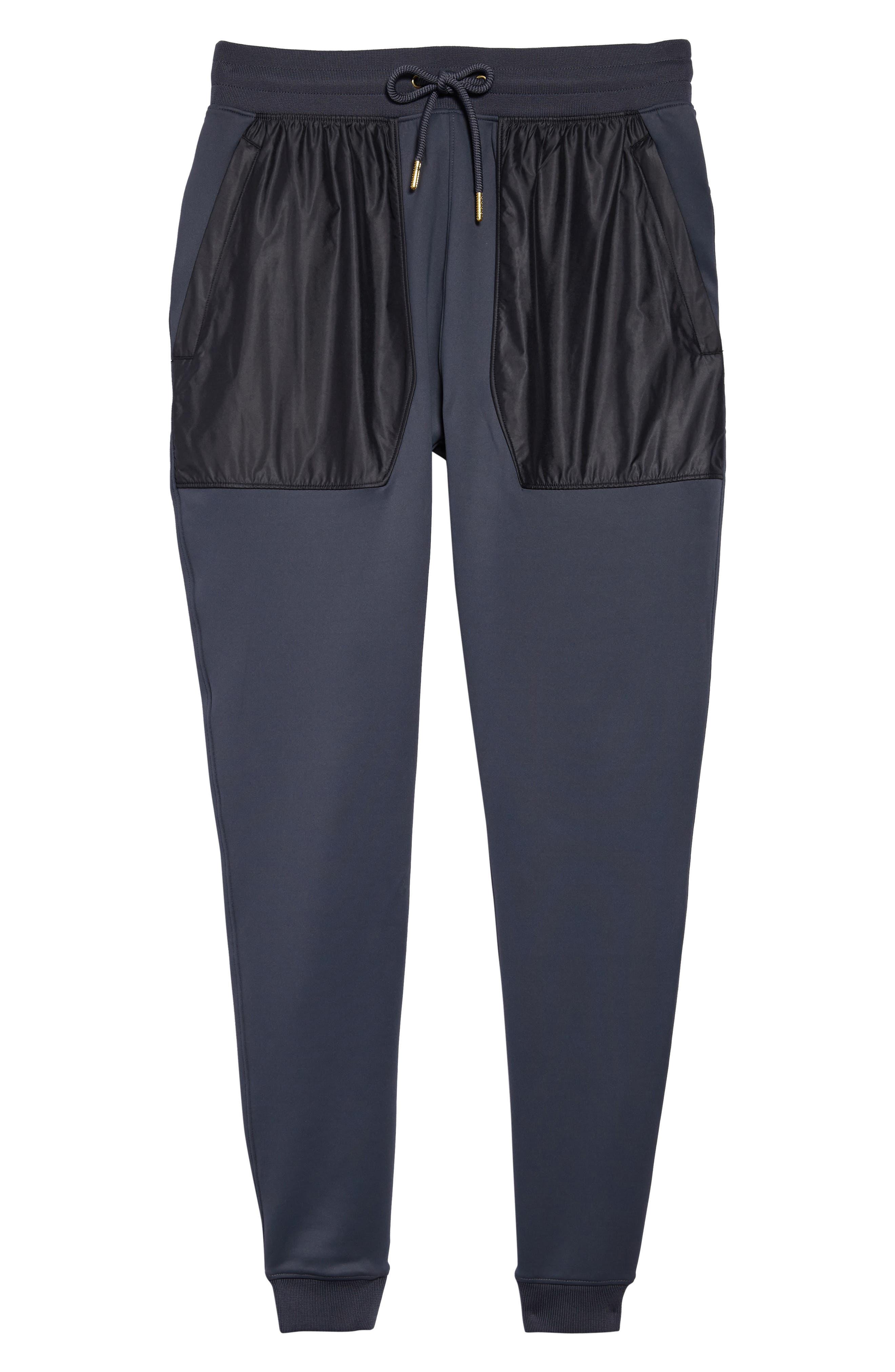 Utility Jogger Pants,                             Alternate thumbnail 6, color,                             Stealth Gray/ Black