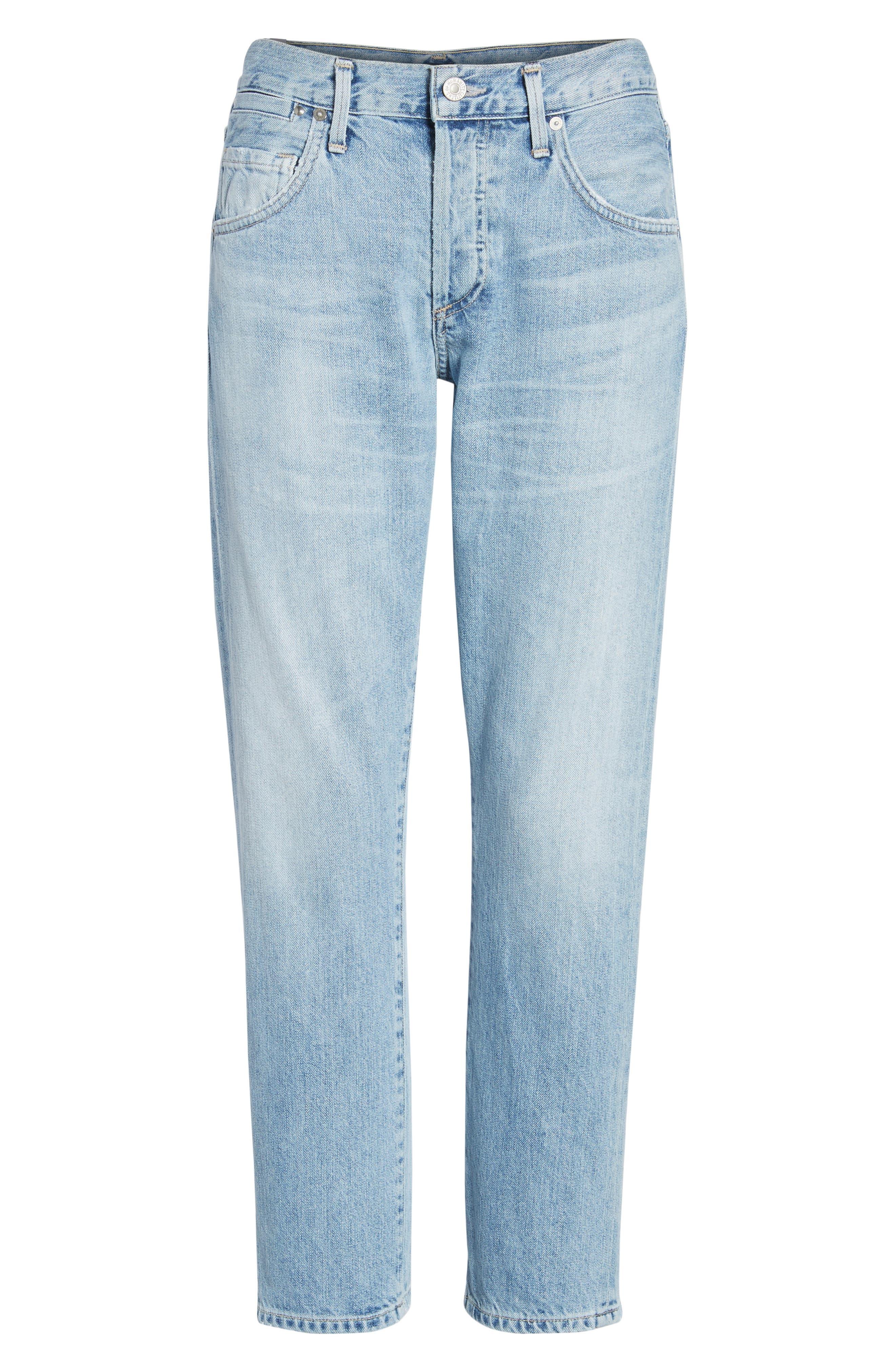 Emerson Slim Fit Boyfriend Jeans,                             Alternate thumbnail 7, color,                             Sunday Morning