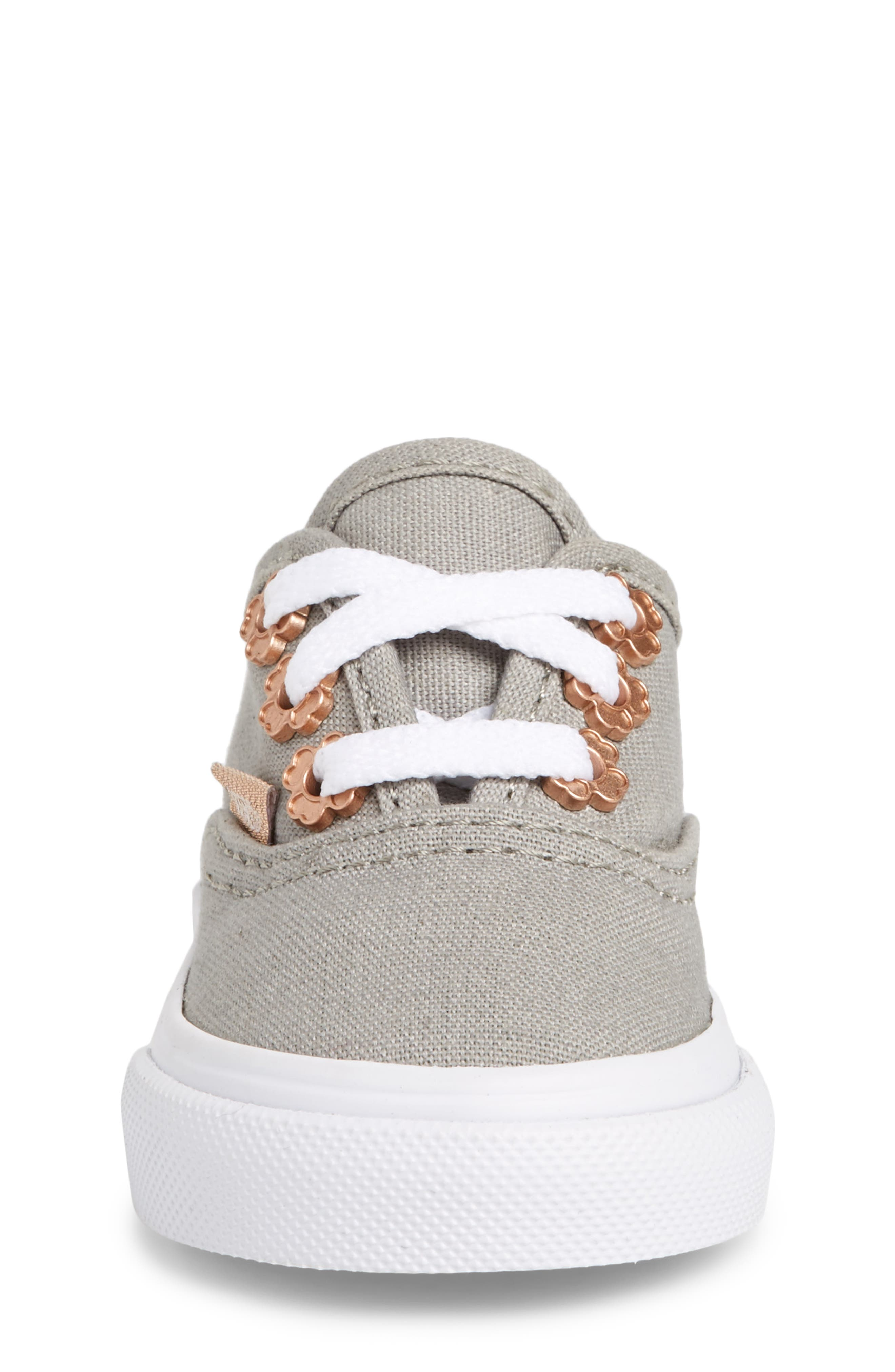 Authentic Sneaker,                             Alternate thumbnail 4, color,                             Drizzle Flower Eyelet