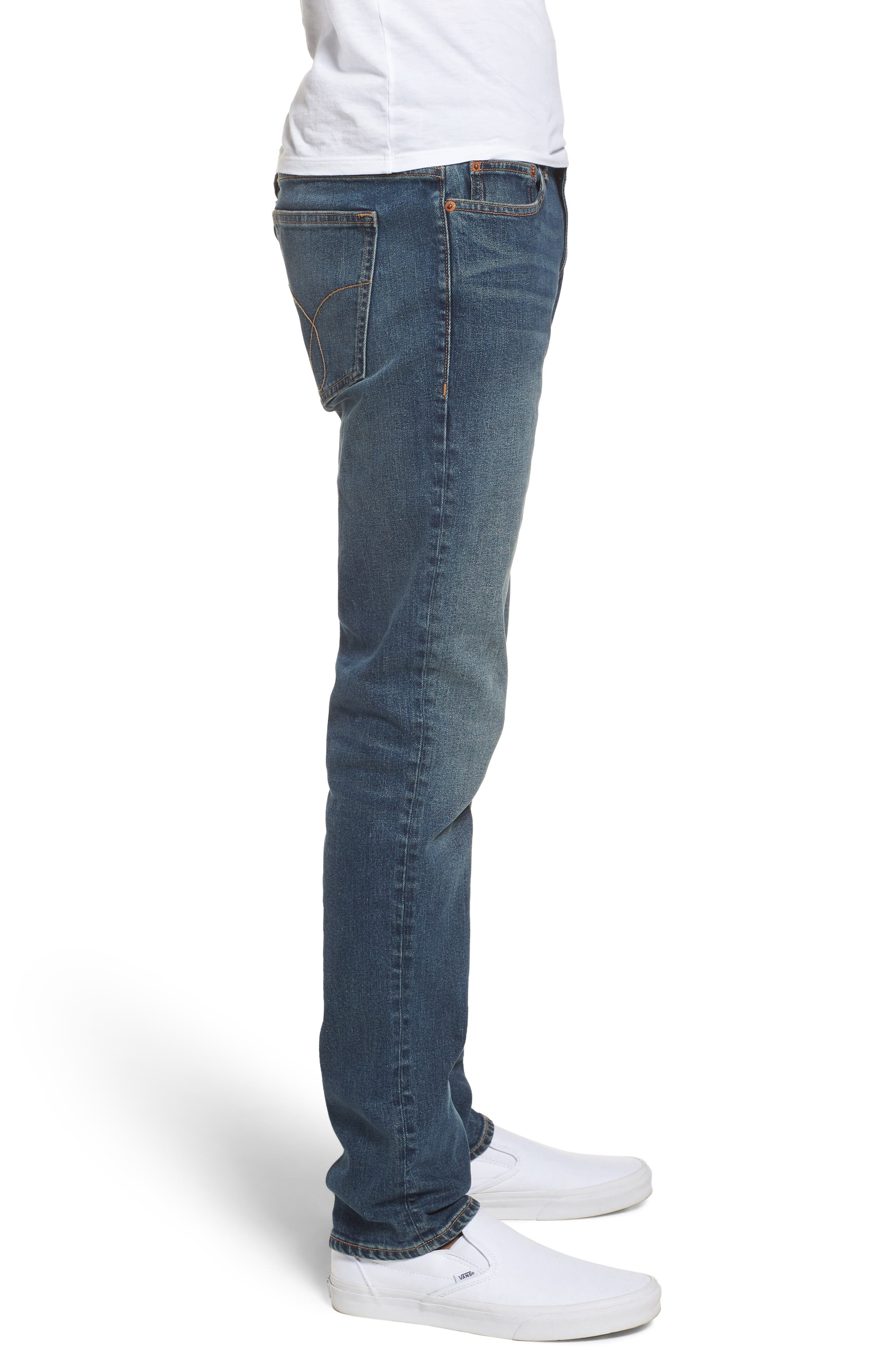 Slim Jeans,                             Alternate thumbnail 3, color,                             Fred Blue