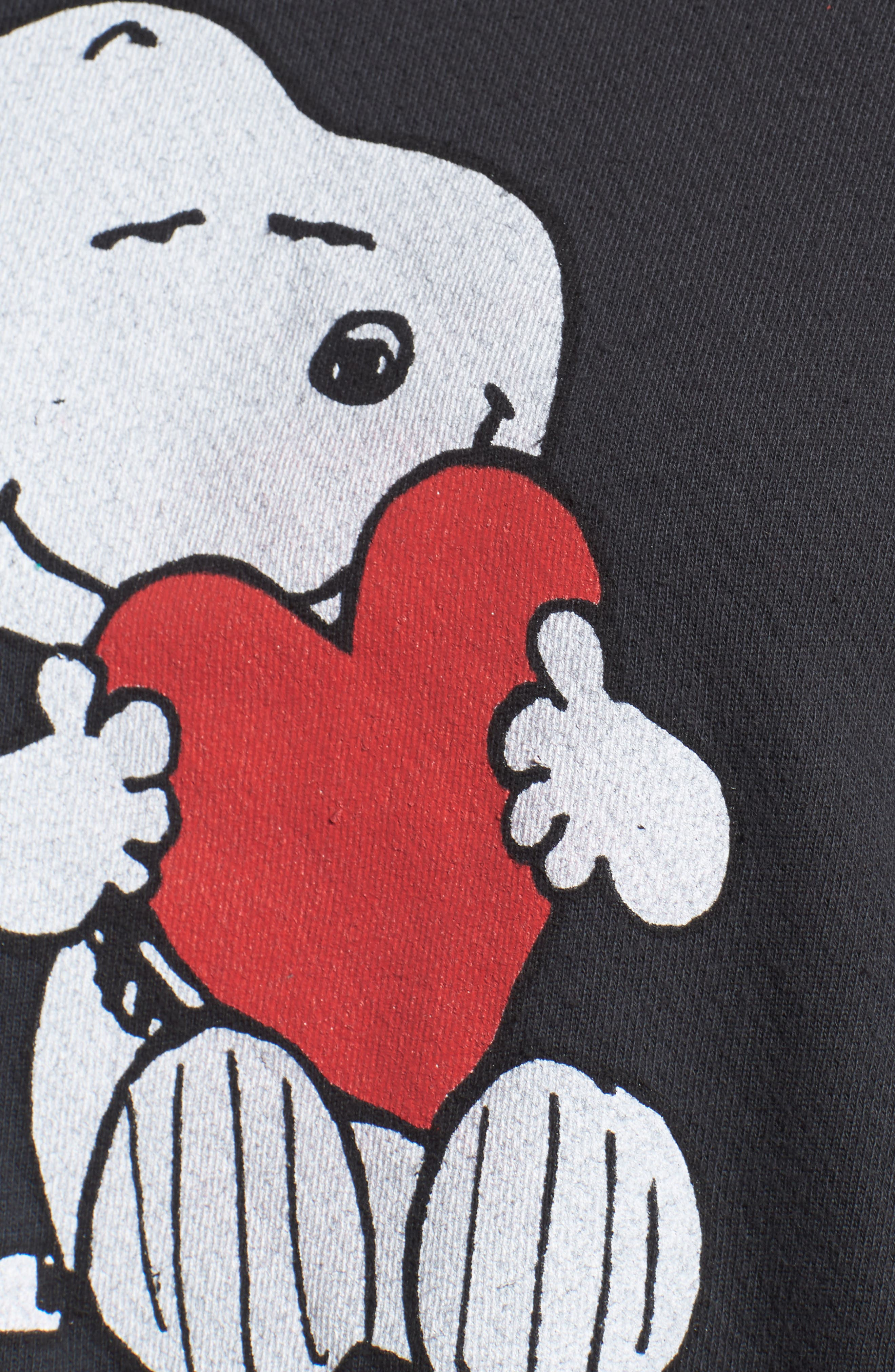 Alternate Image 6  - Daydreamer Snoopy Bandana Panel Sweatshirt (Limited Edition) (Nordstrom Exclusive)