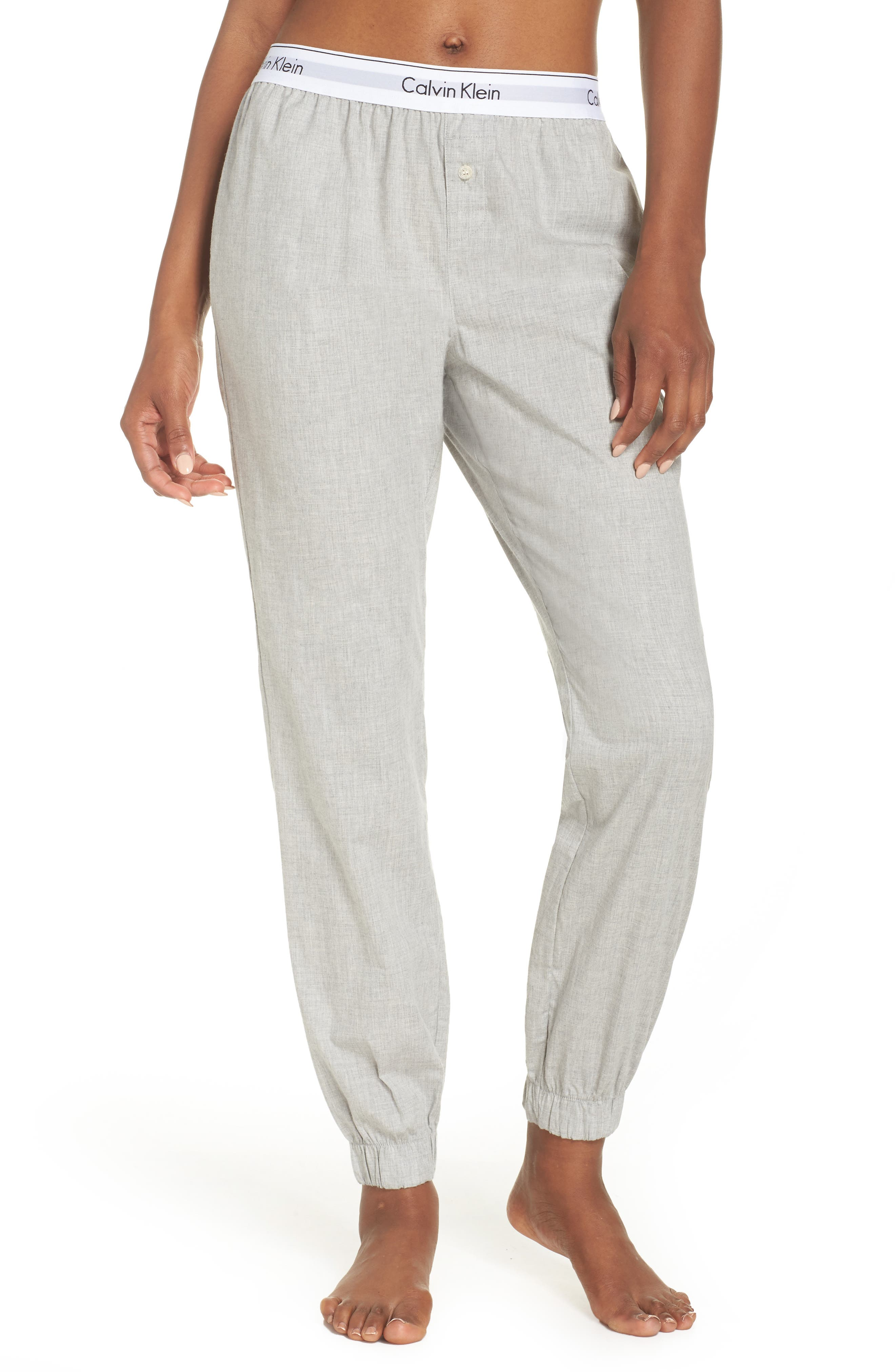 Lounge Jogger Pants,                         Main,                         color, Grey Heather