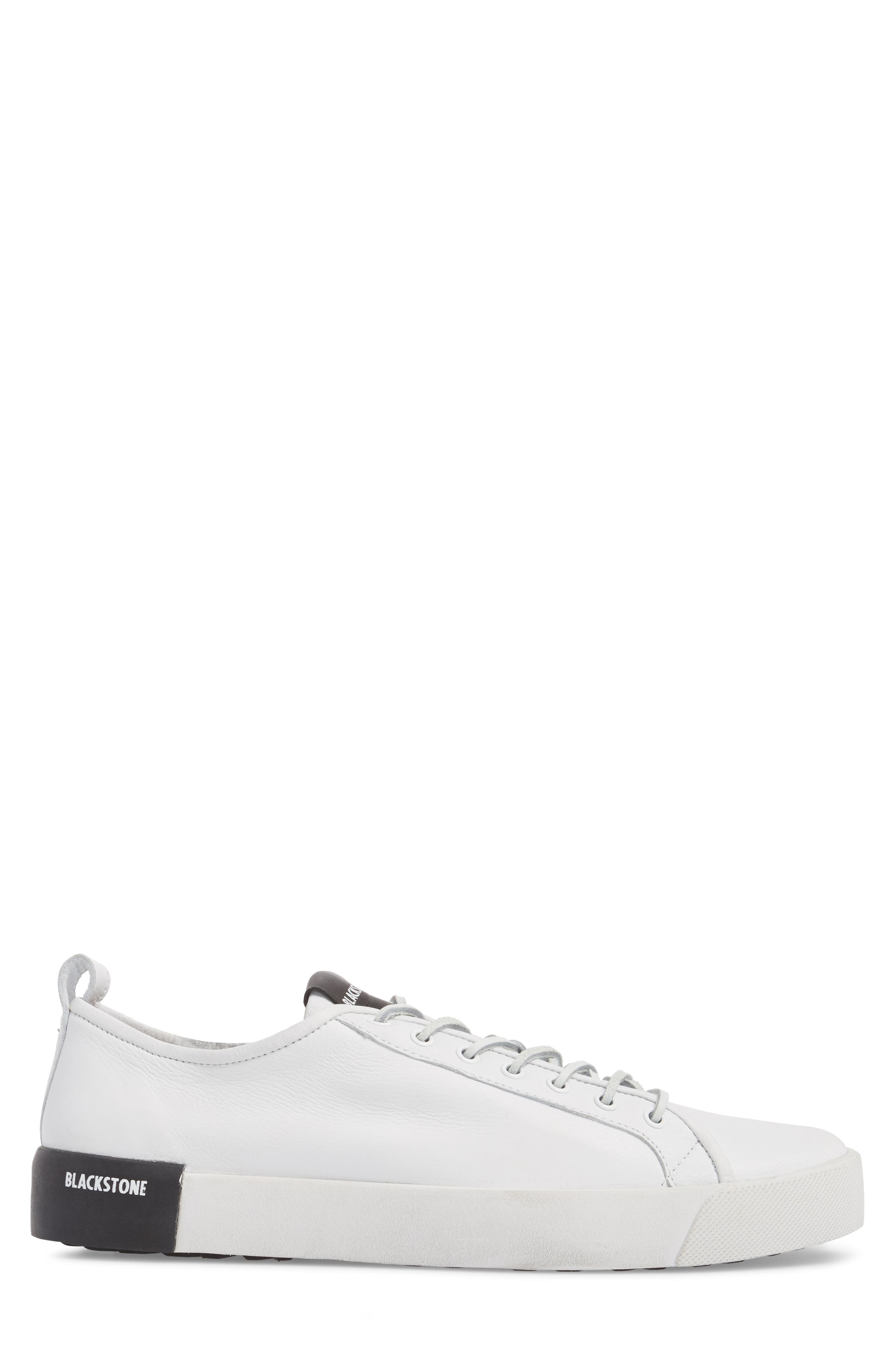 PM66 Low Top Sneaker,                             Alternate thumbnail 3, color,                             White Leather