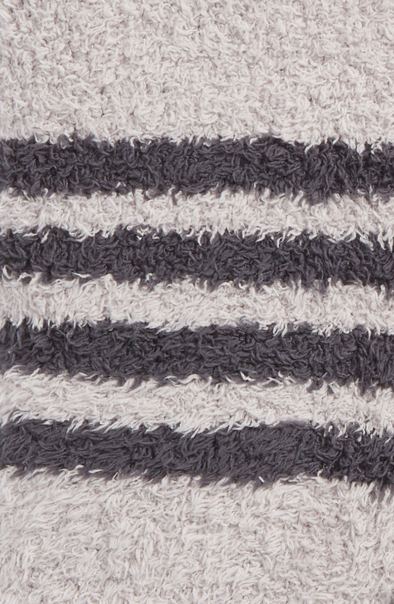 CozyChic<sup>™</sup> Multi Stripe Throw,                             Alternate thumbnail 2, color,                             Oyster/ Slate Blue
