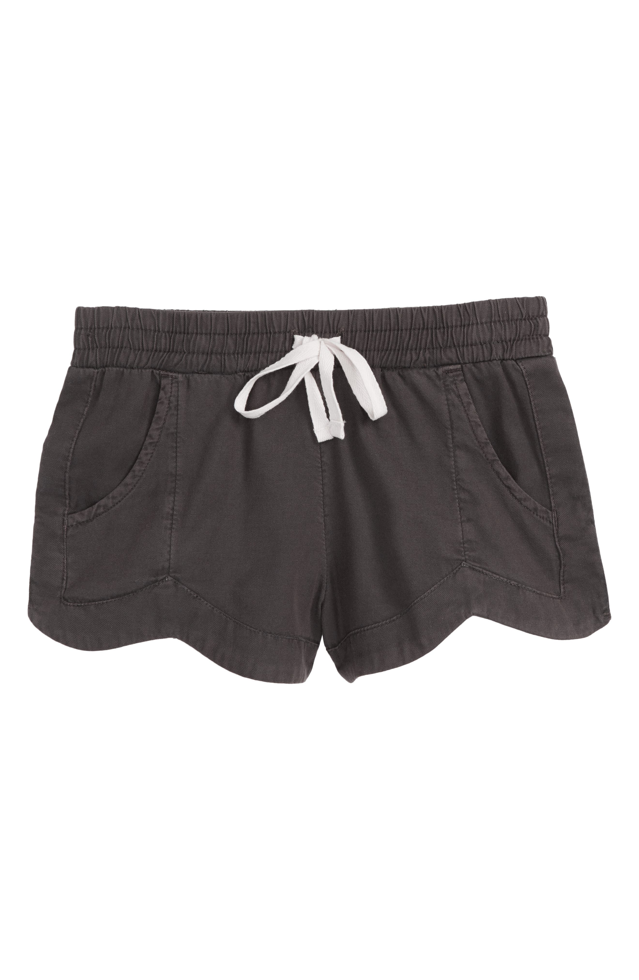 Made For You Woven Shorts,                         Main,                         color, Black