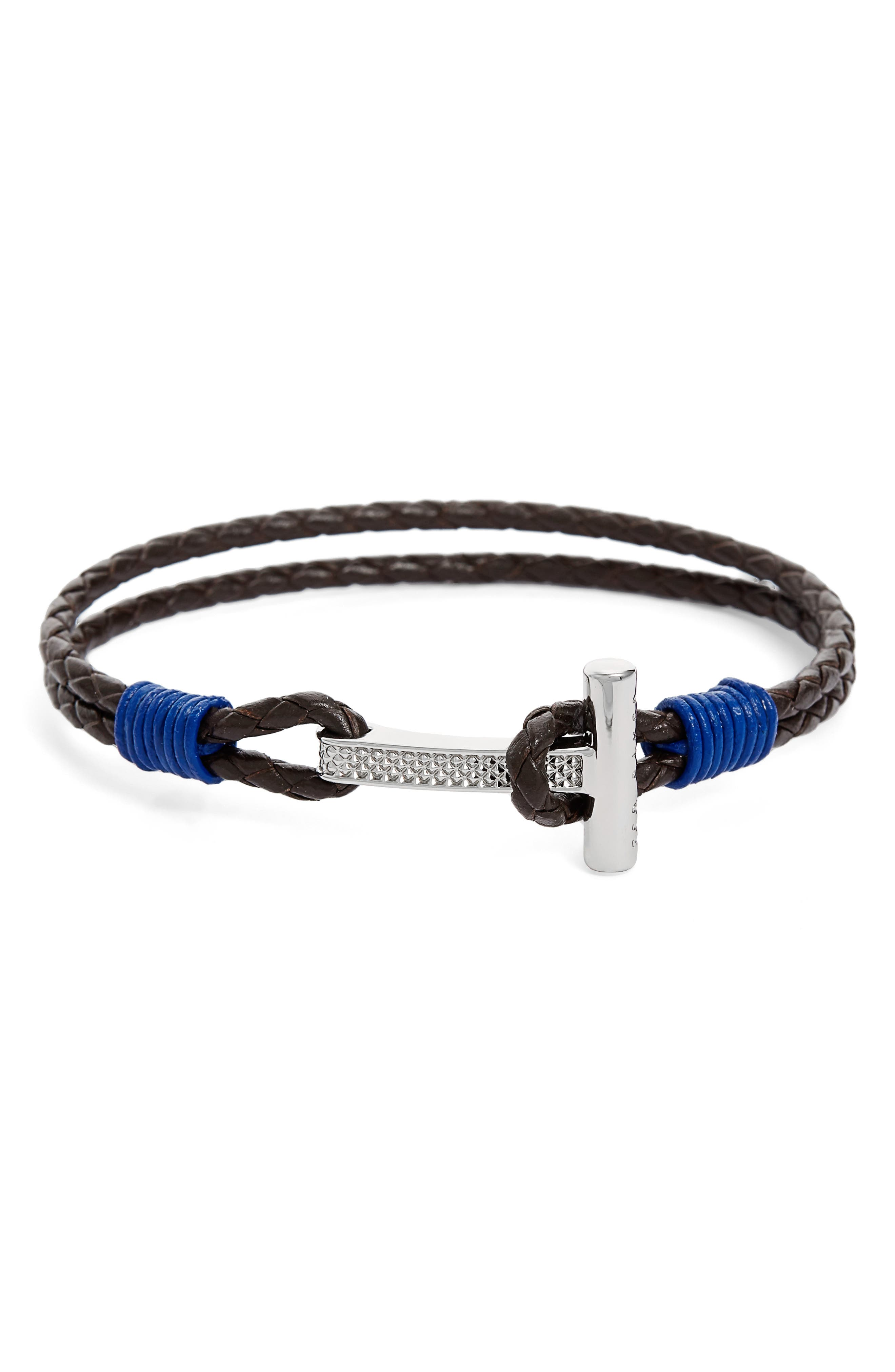 Ted Baker London Shrug Leather Bracelet