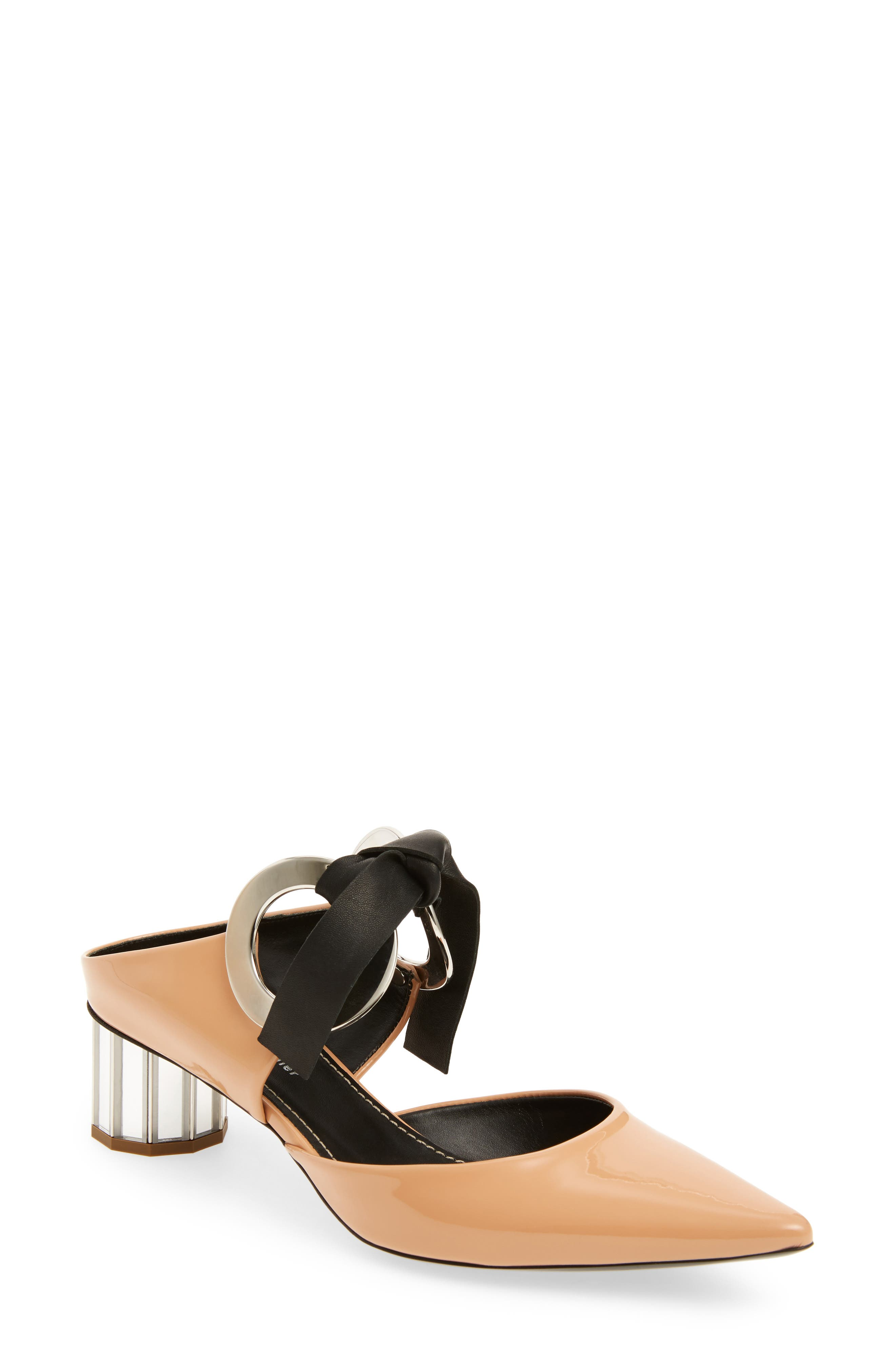 Proenza Schouler Ring Tie Pointy Toe Pump (Women)