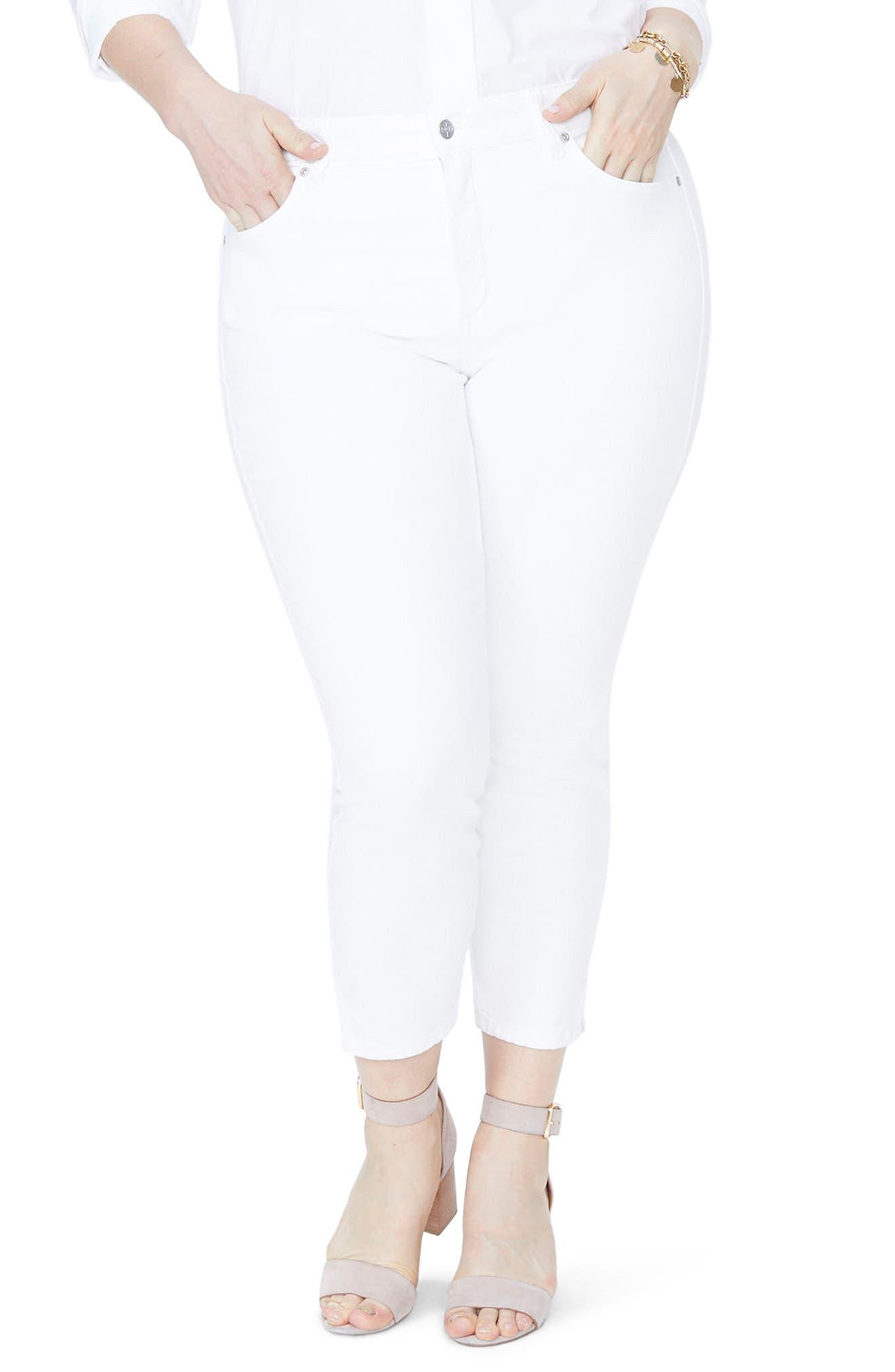 NYDJ Ami Ankle Skinny Jeans (Plus Size)