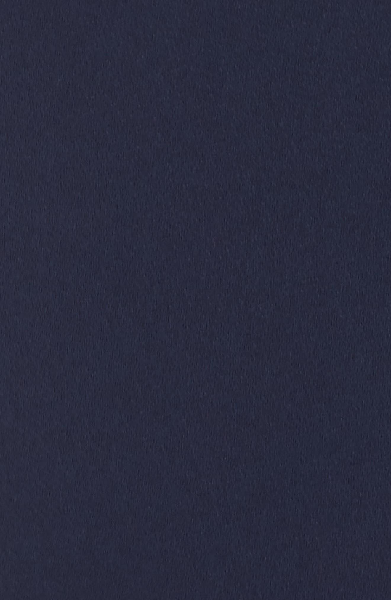 Lace Back Halter Romper,                             Alternate thumbnail 6, color,                             Navy