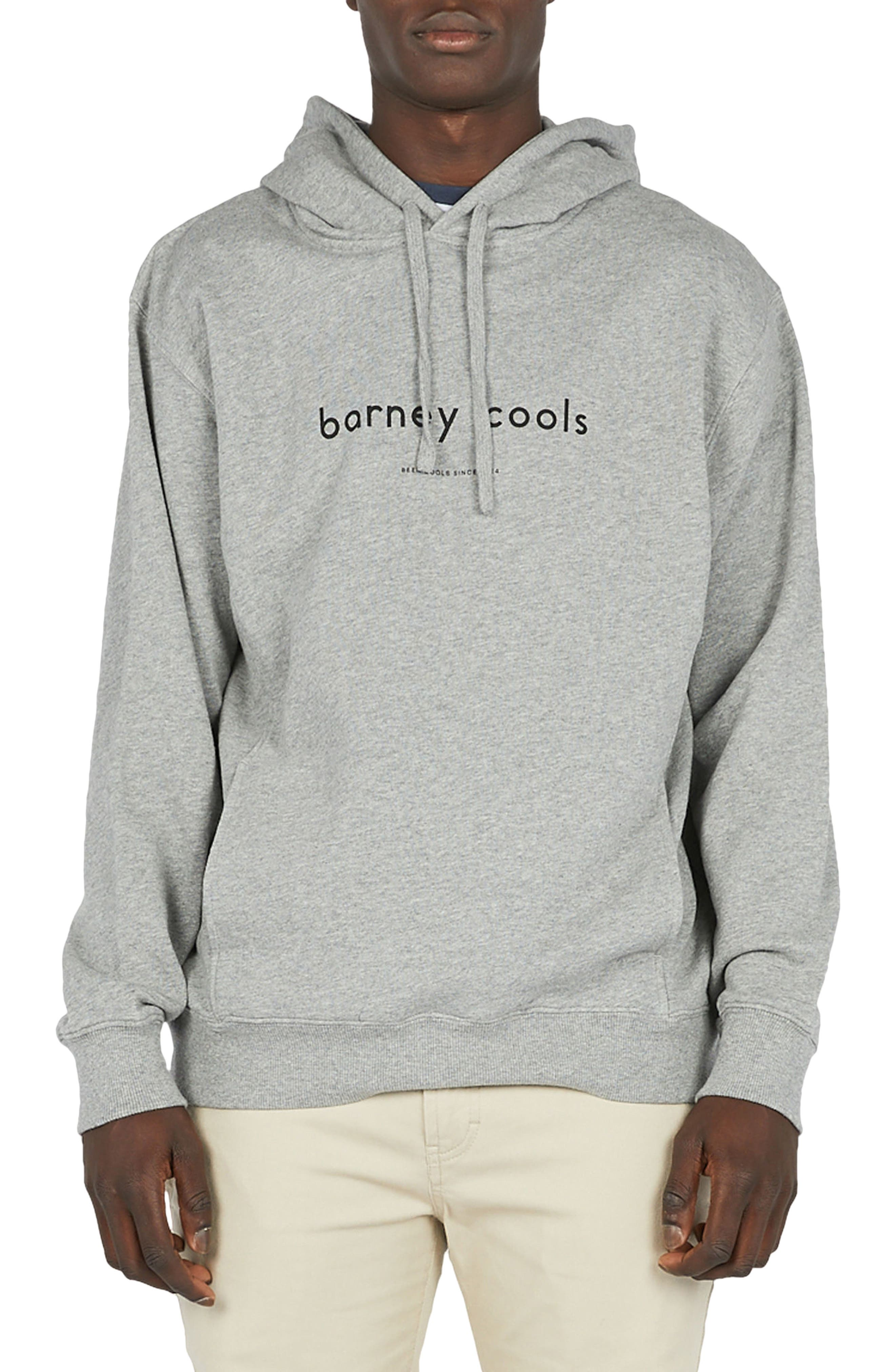 Alternate Image 1 Selected - Barney Cools Logo Hoodie Sweatshirt