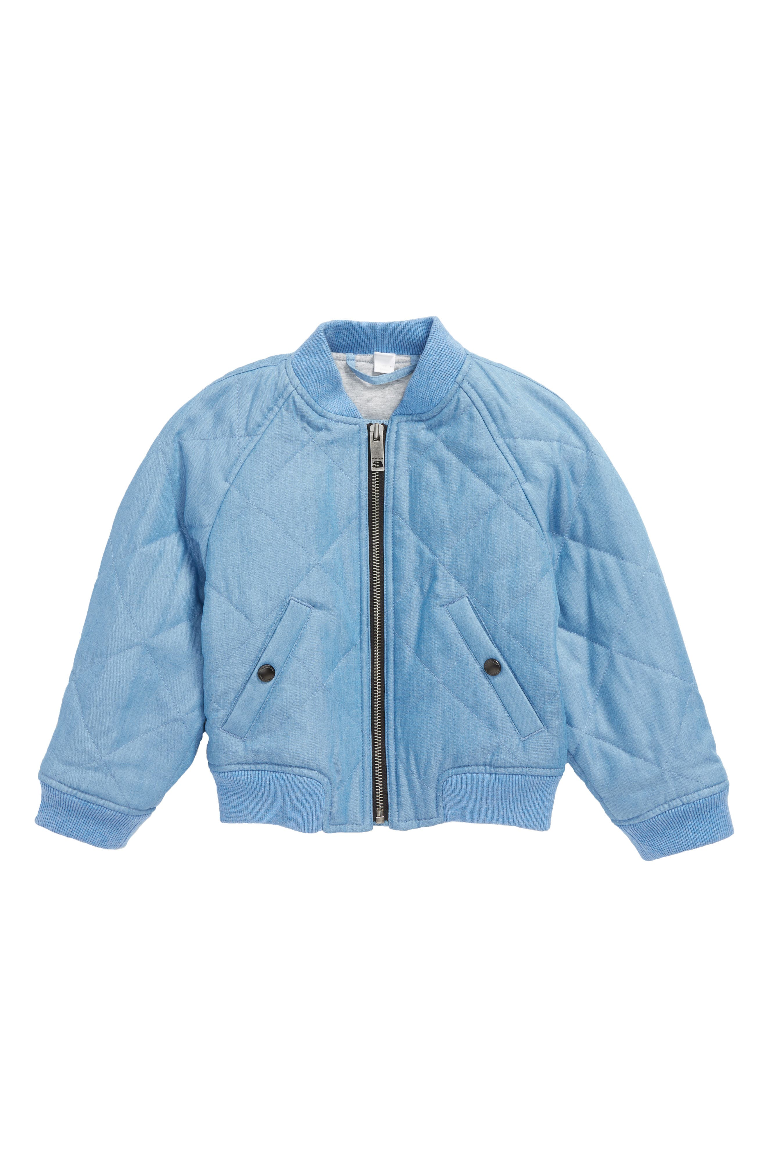 Burberry Blossom Quilted Chambray Jacket (Little Girls & Big Girls)