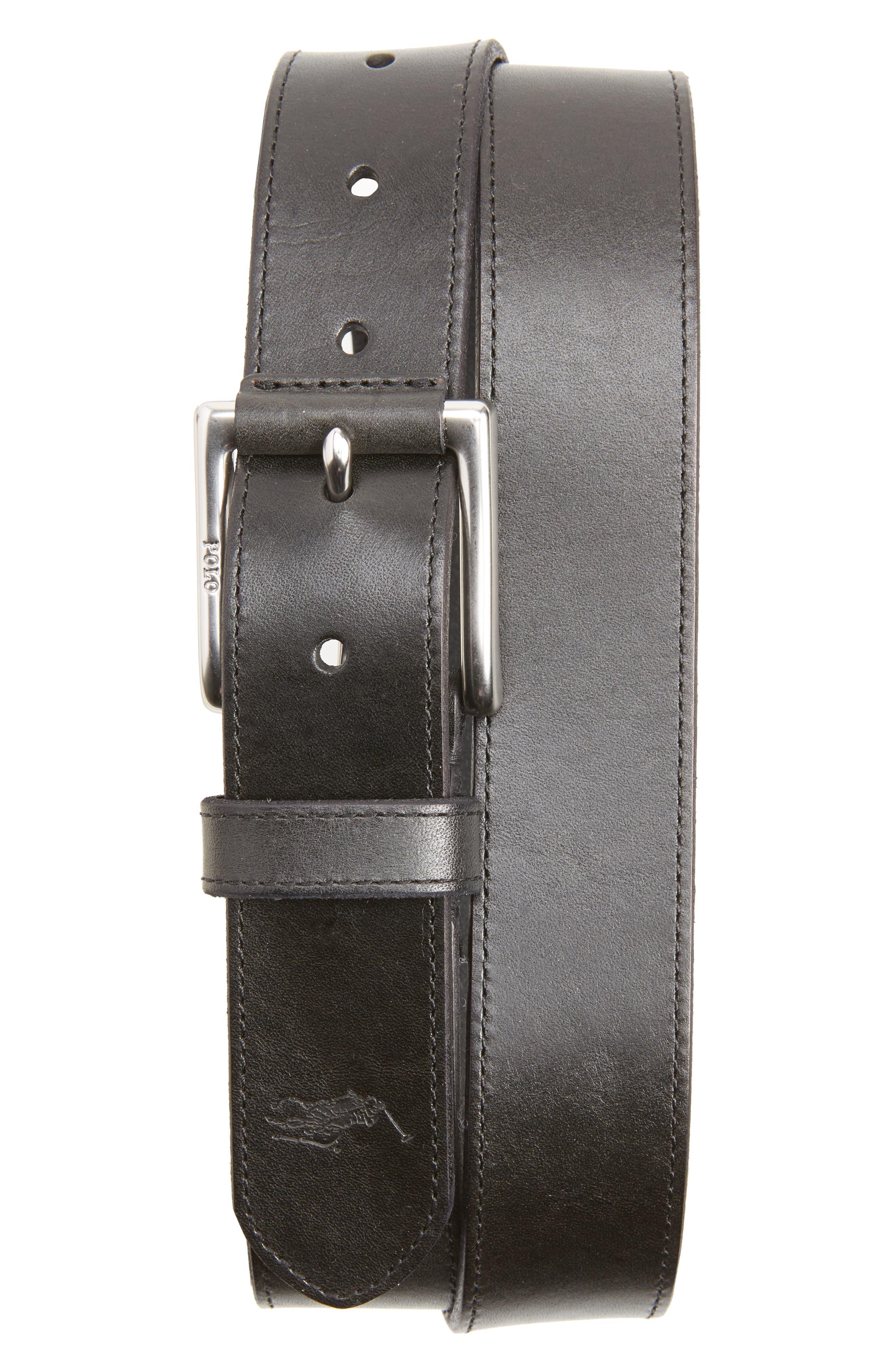 Main Image - Polo Ralph Lauren Casual Leather Belt