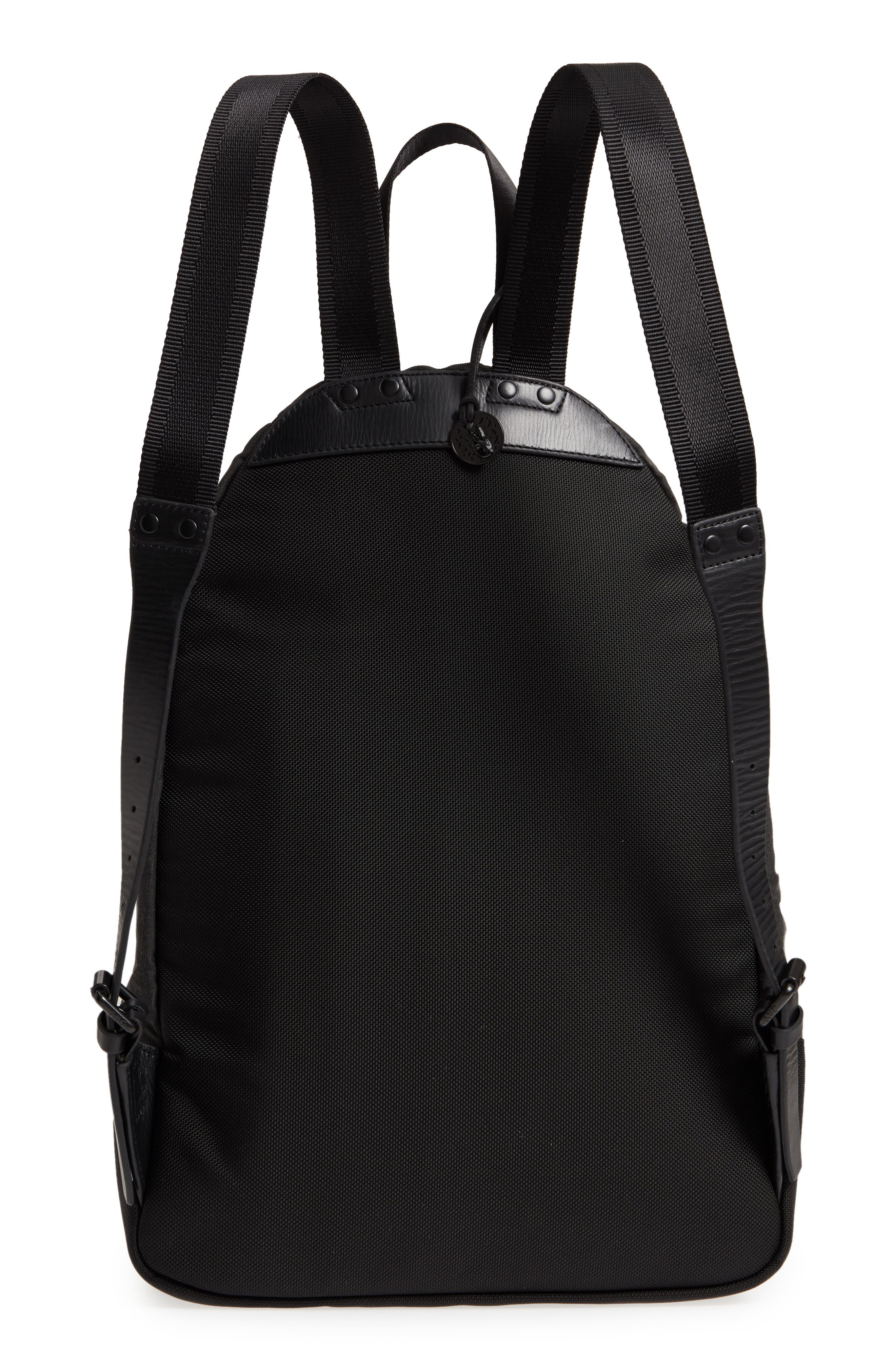 Gibson Flag Print Backpack,                             Alternate thumbnail 3, color,                             Charcoal