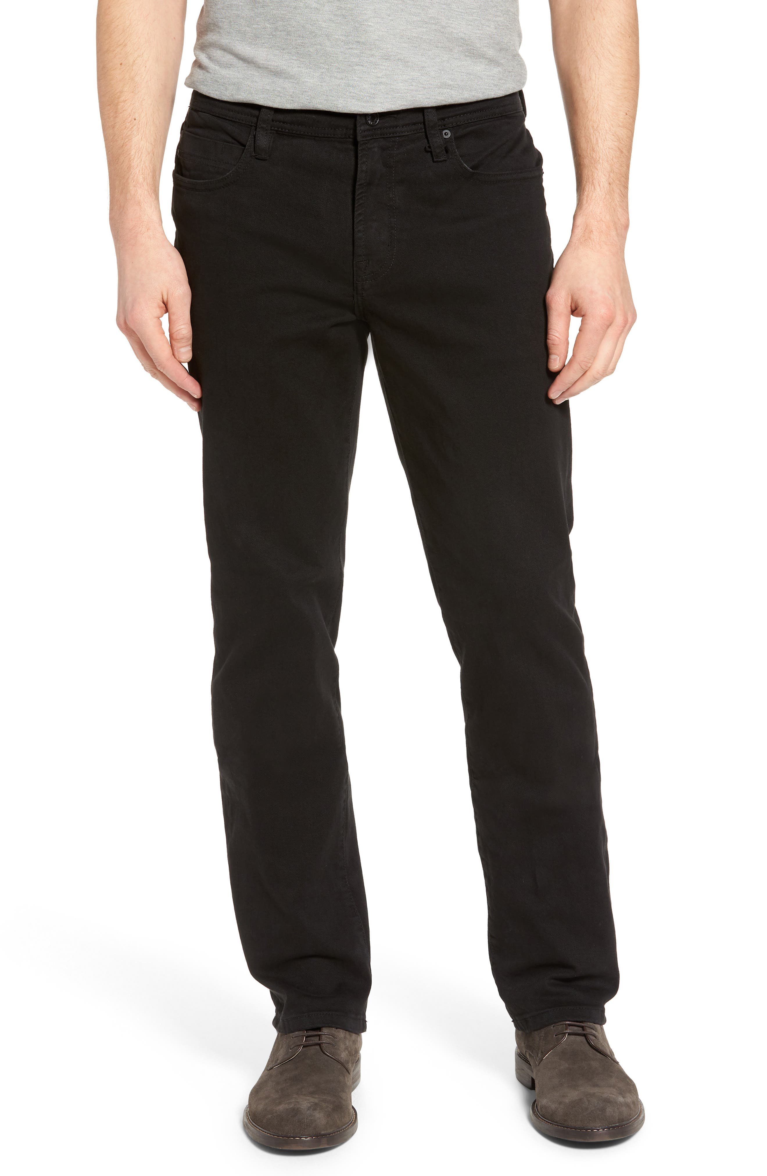Jeans Co. Regent Relaxed Fit Jeans,                             Main thumbnail 1, color,                             Black Rinse