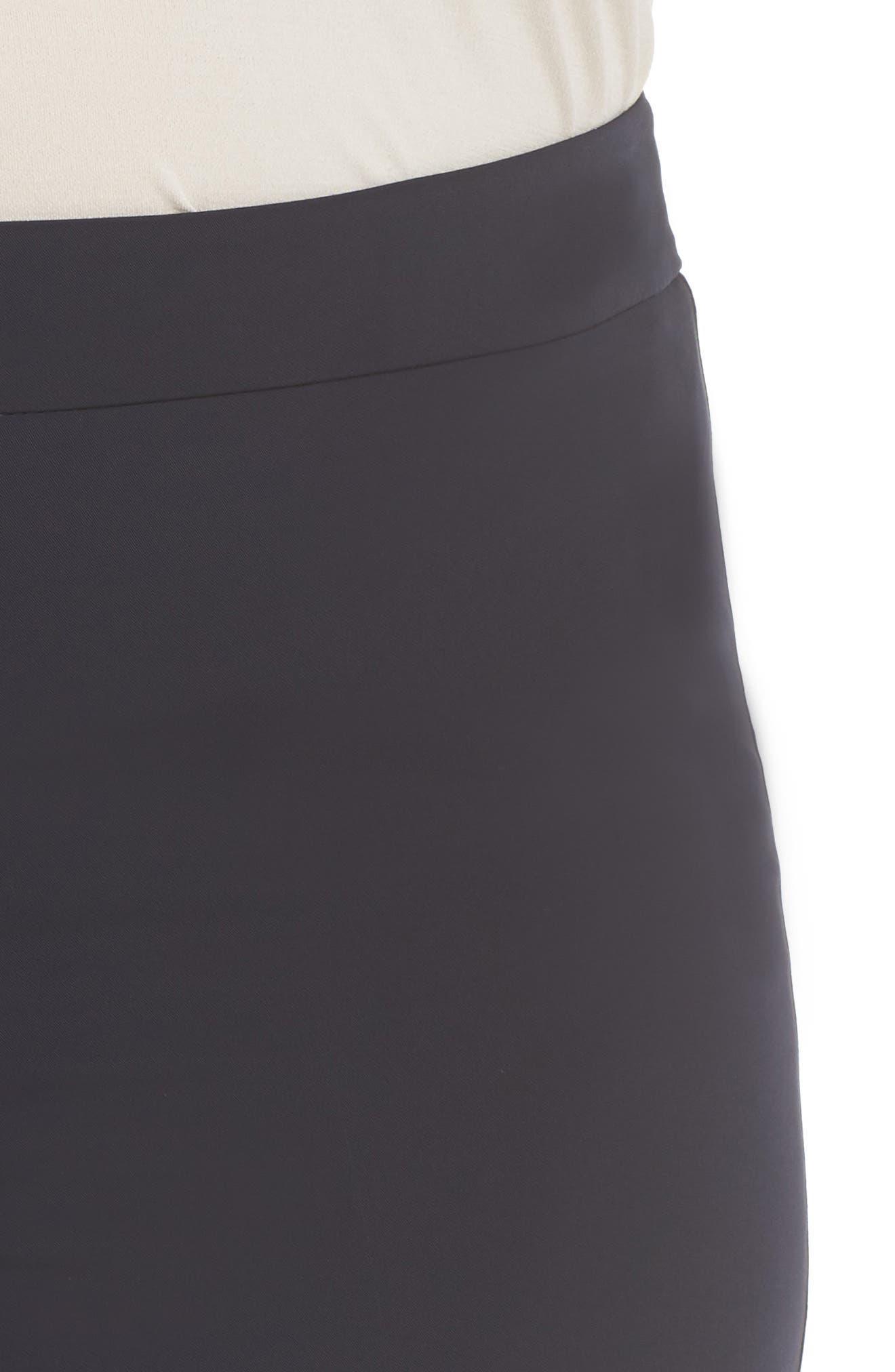 Slim Leg Pants,                             Alternate thumbnail 4, color,                             Dark Navy