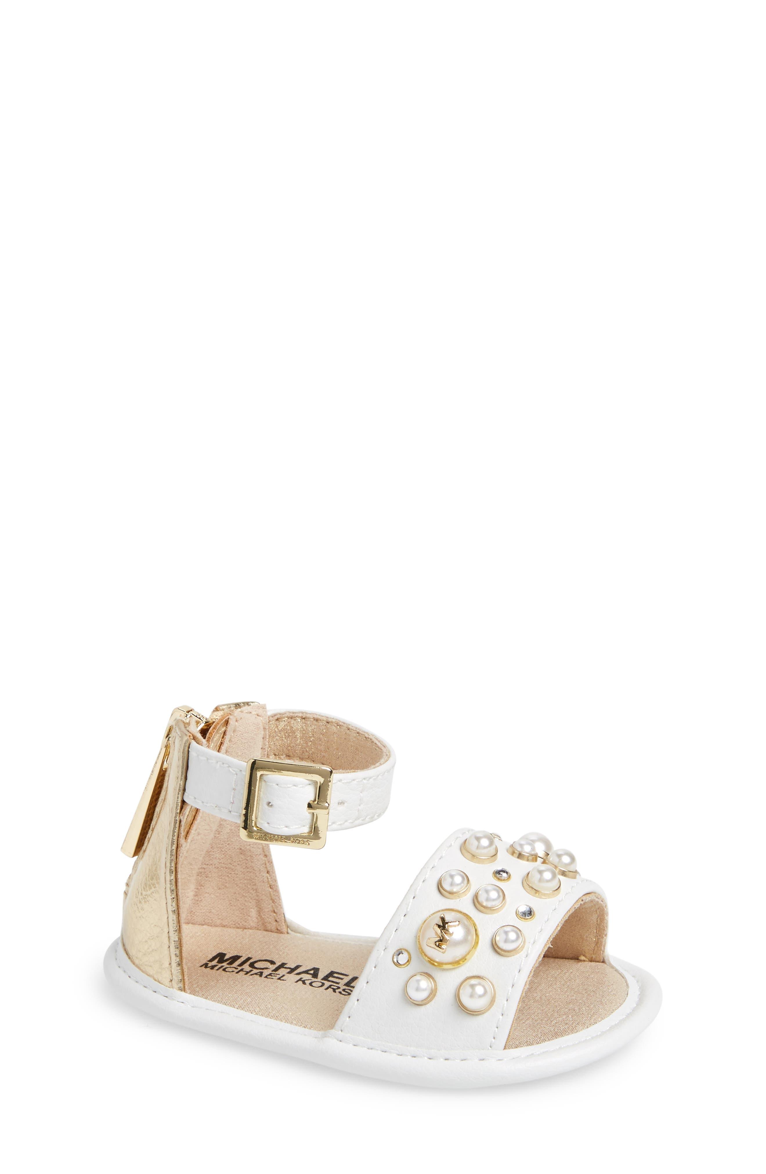 Pennie Sandal,                         Main,                         color, White