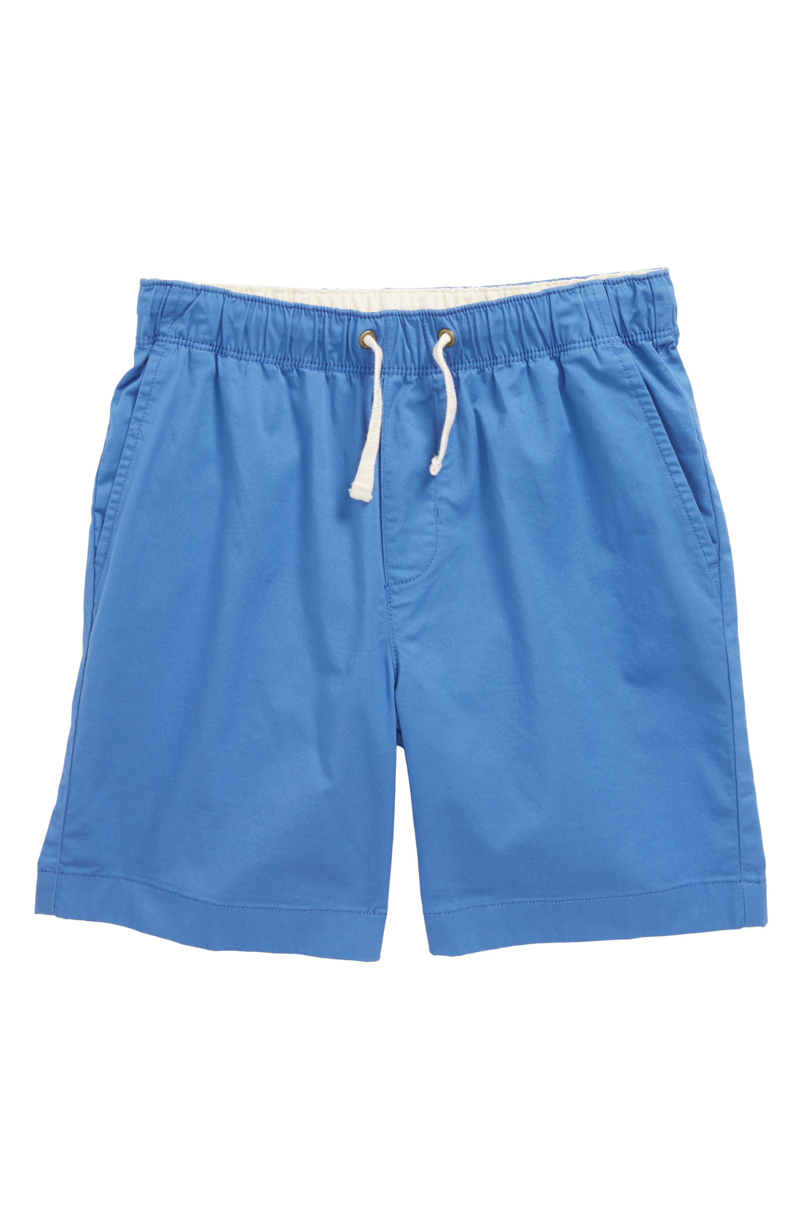 crewcuts by J.Crew Tie Front Dock Shorts (Toddler Boys, Little Boys & Big Boys)