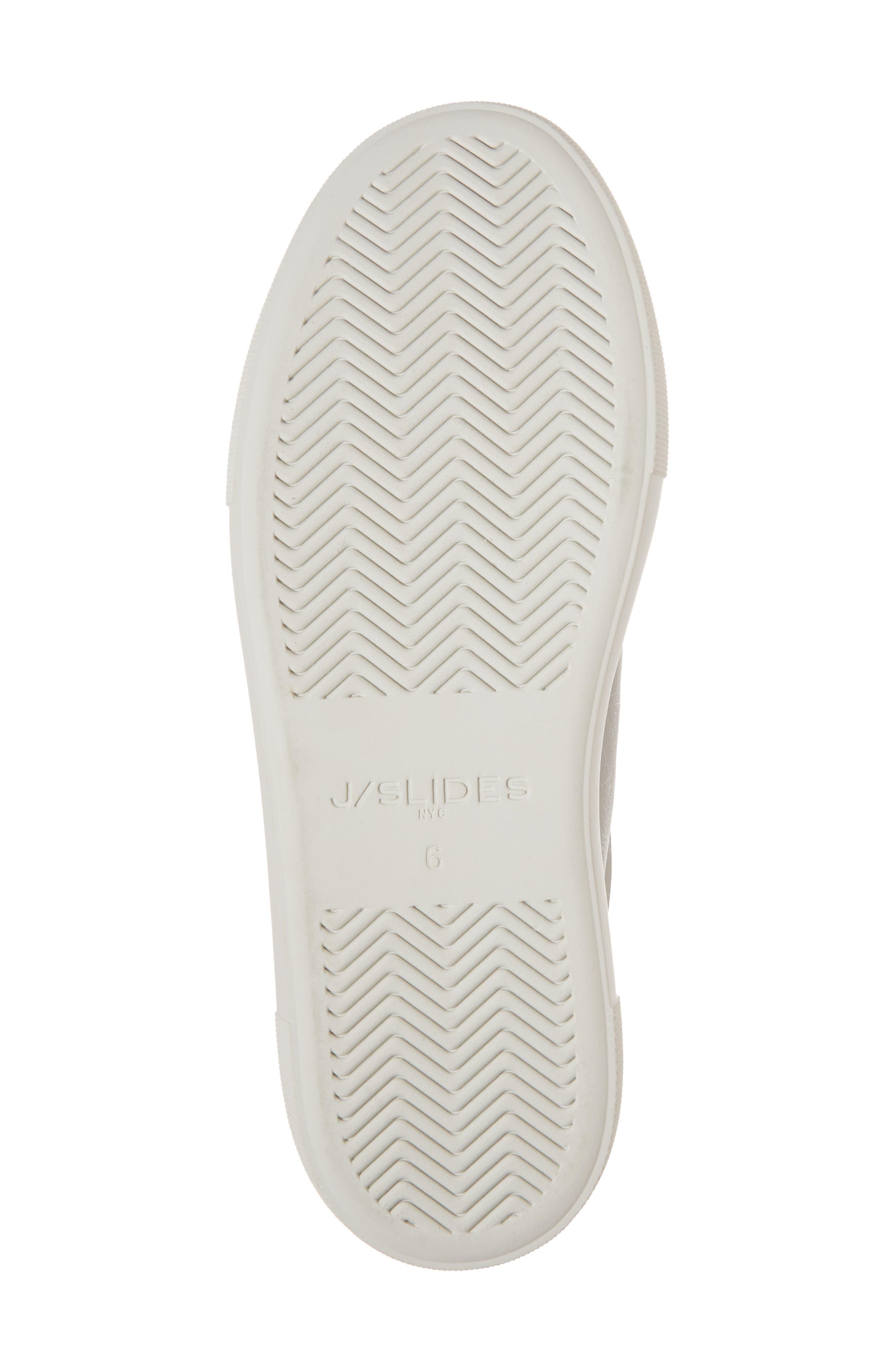 Adel Floral Sneaker,                             Alternate thumbnail 6, color,                             Light Grey Leather