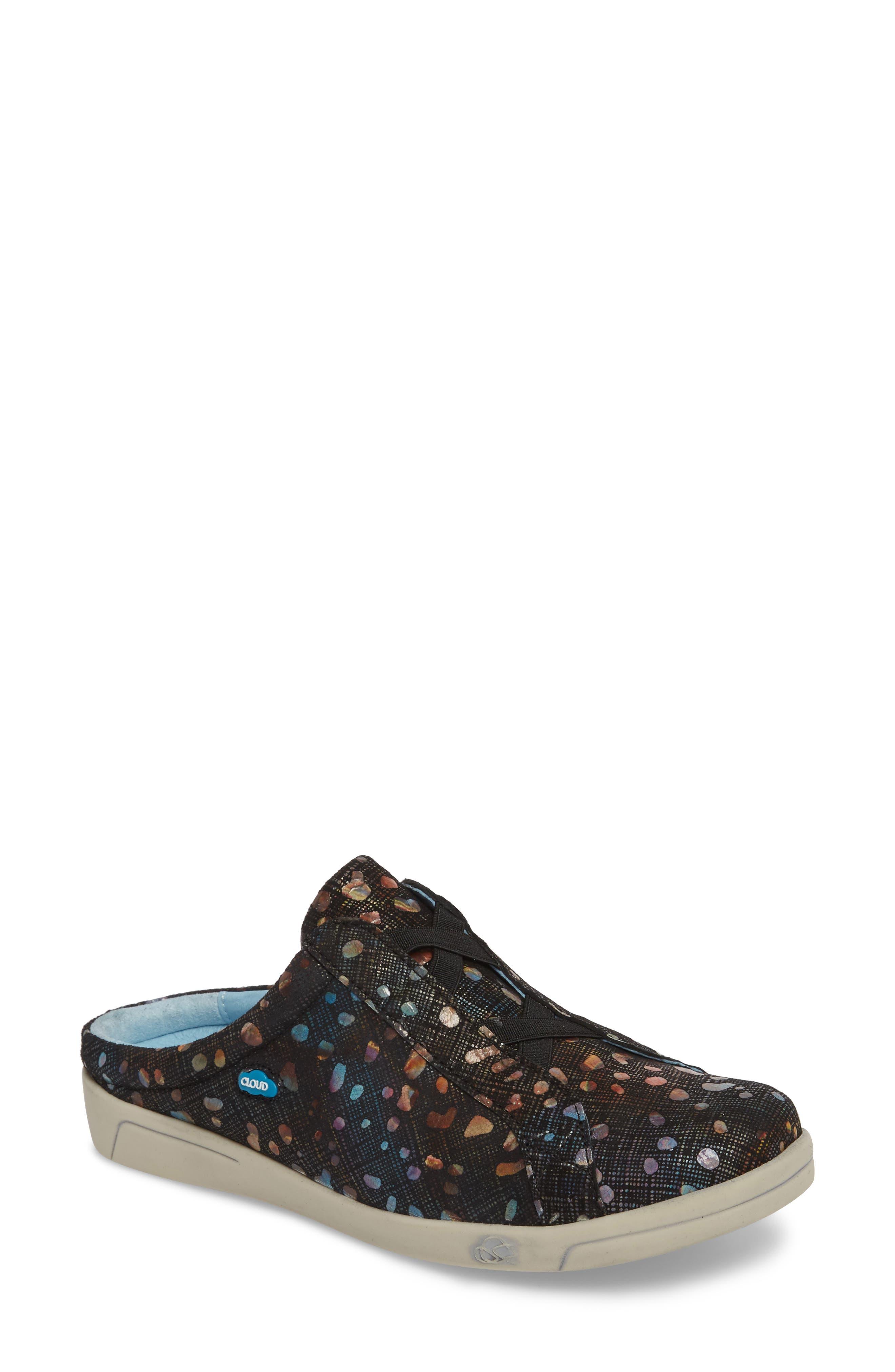Arizona Fantasy Mule Sneaker,                             Main thumbnail 1, color,                             Bubble Leather