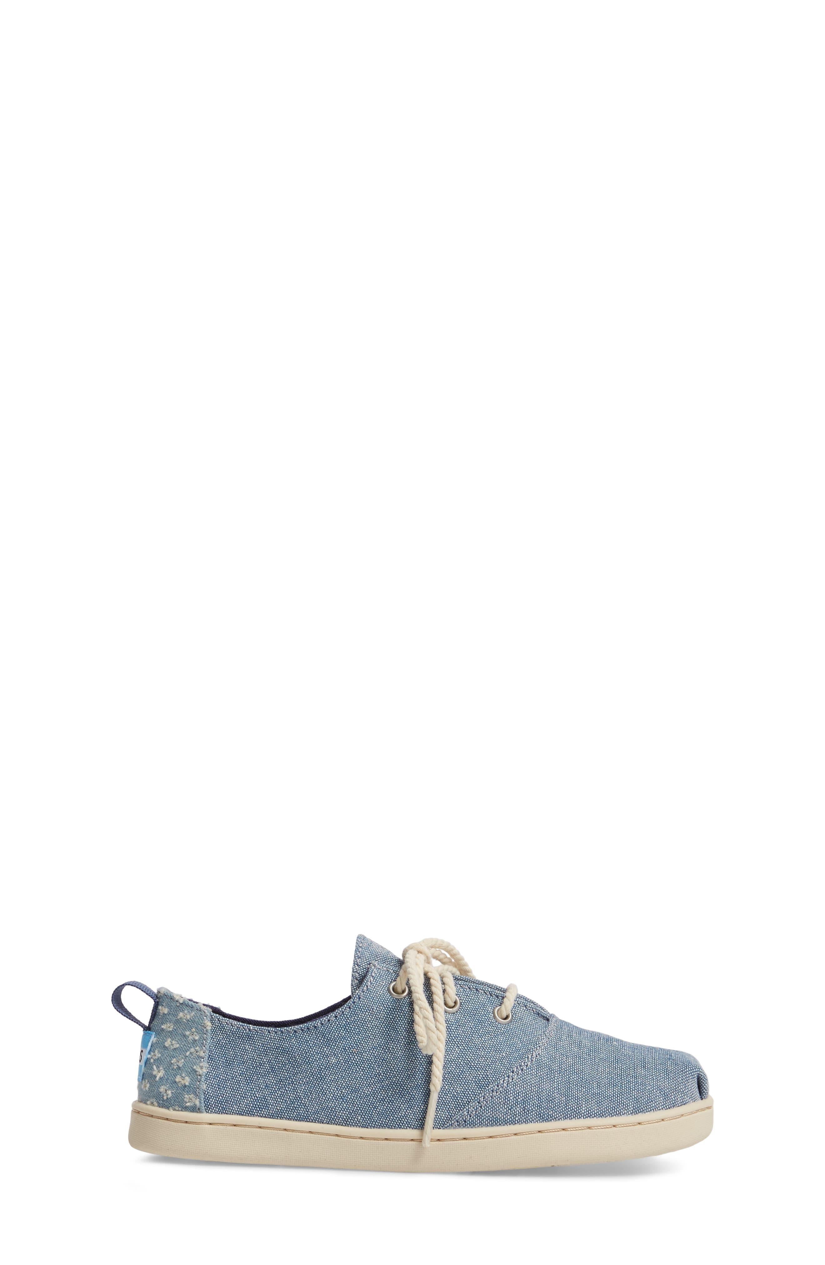 Lumin Sneaker,                             Alternate thumbnail 3, color,                             Blue Chambray