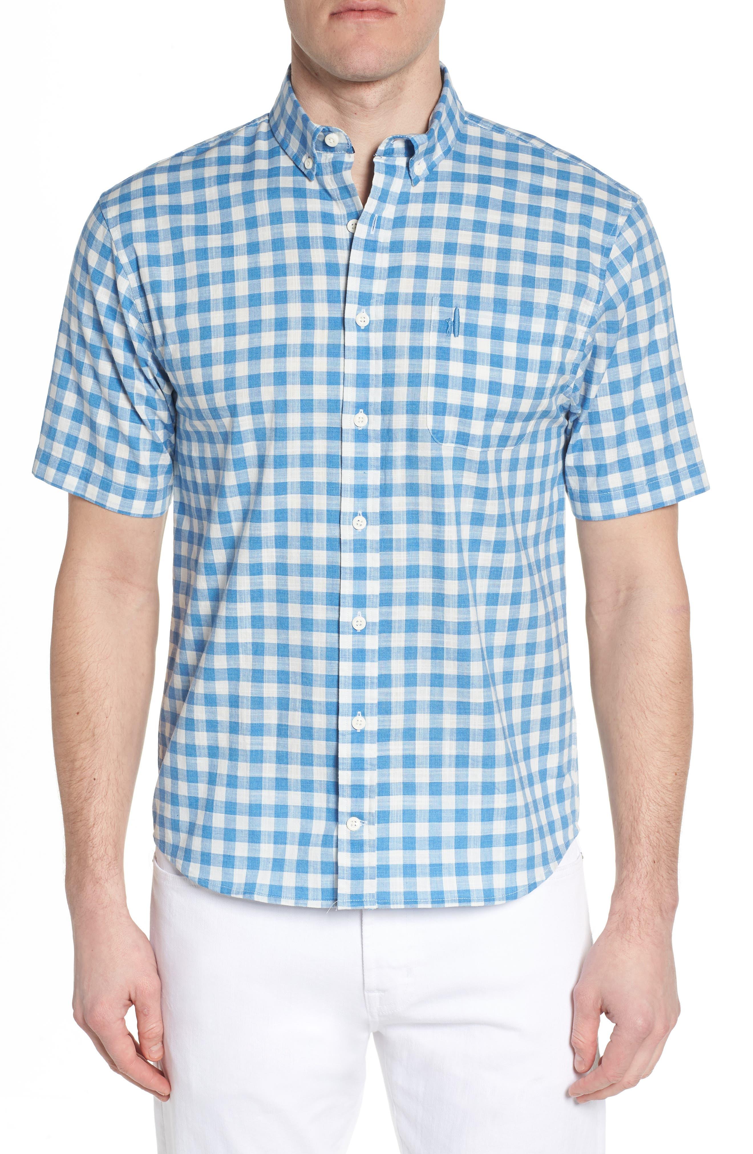 Watts Regular Fit Sport Shirt,                             Main thumbnail 1, color,                             Calypso
