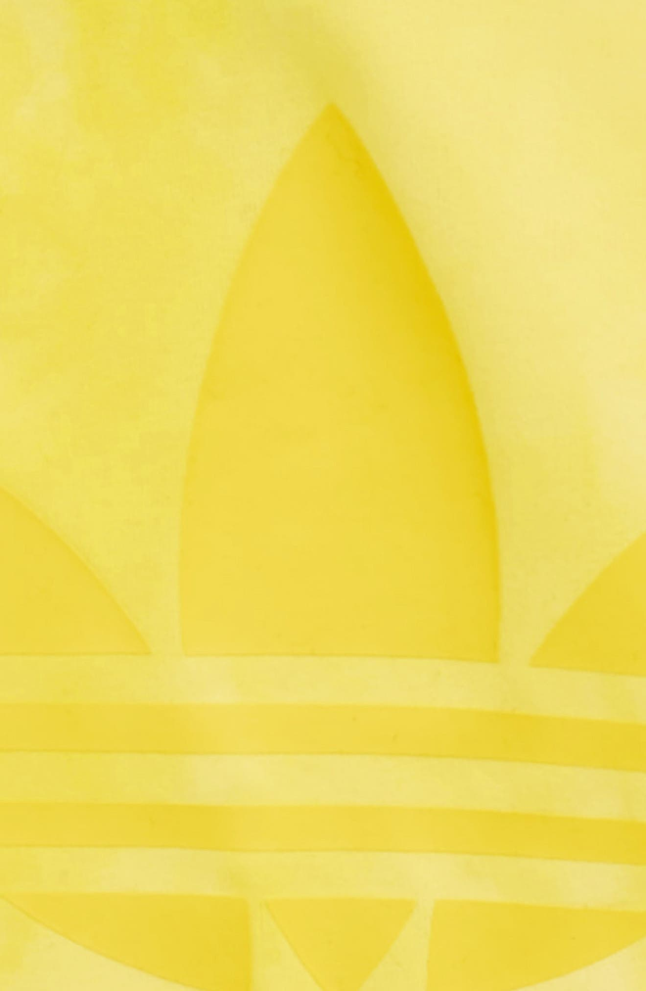 Hu Holi Tee,                             Alternate thumbnail 3, color,                             Yellow / White