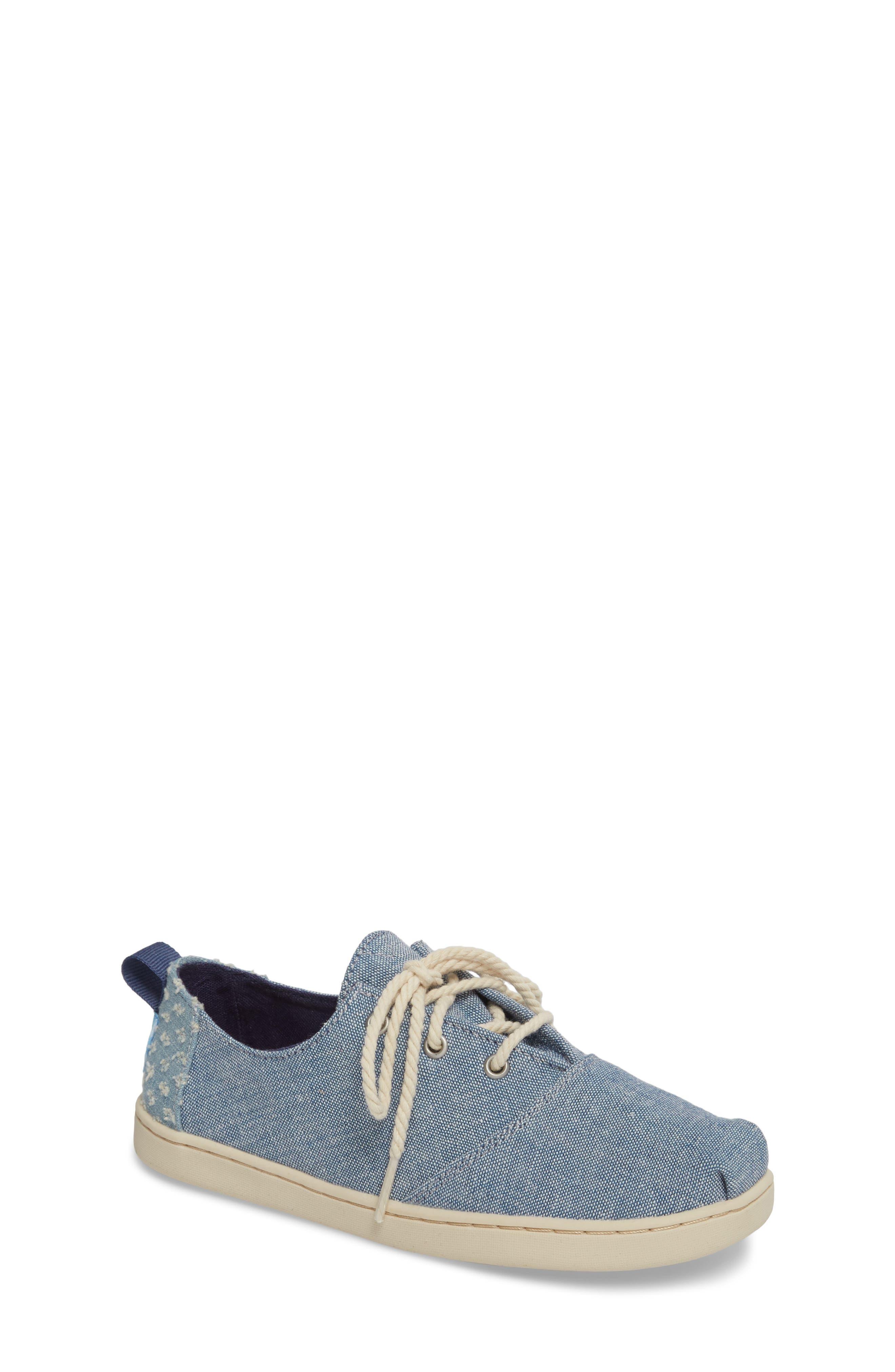 Lumin Sneaker,                         Main,                         color, Blue Chambray