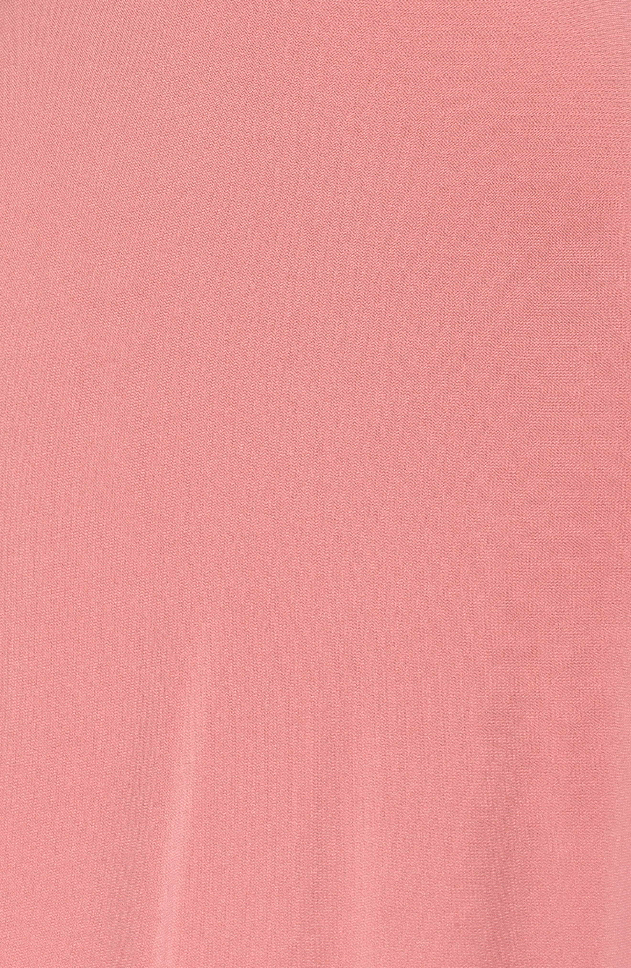 Sparkle Waist Gown,                             Alternate thumbnail 5, color,                             Rose Pink
