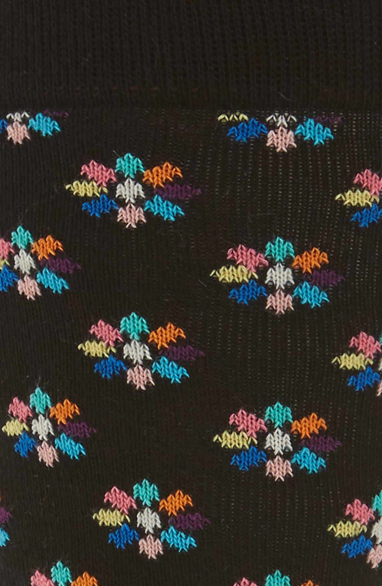 Alternate Image 2  - Happy Socks Mini Flower Crew Socks