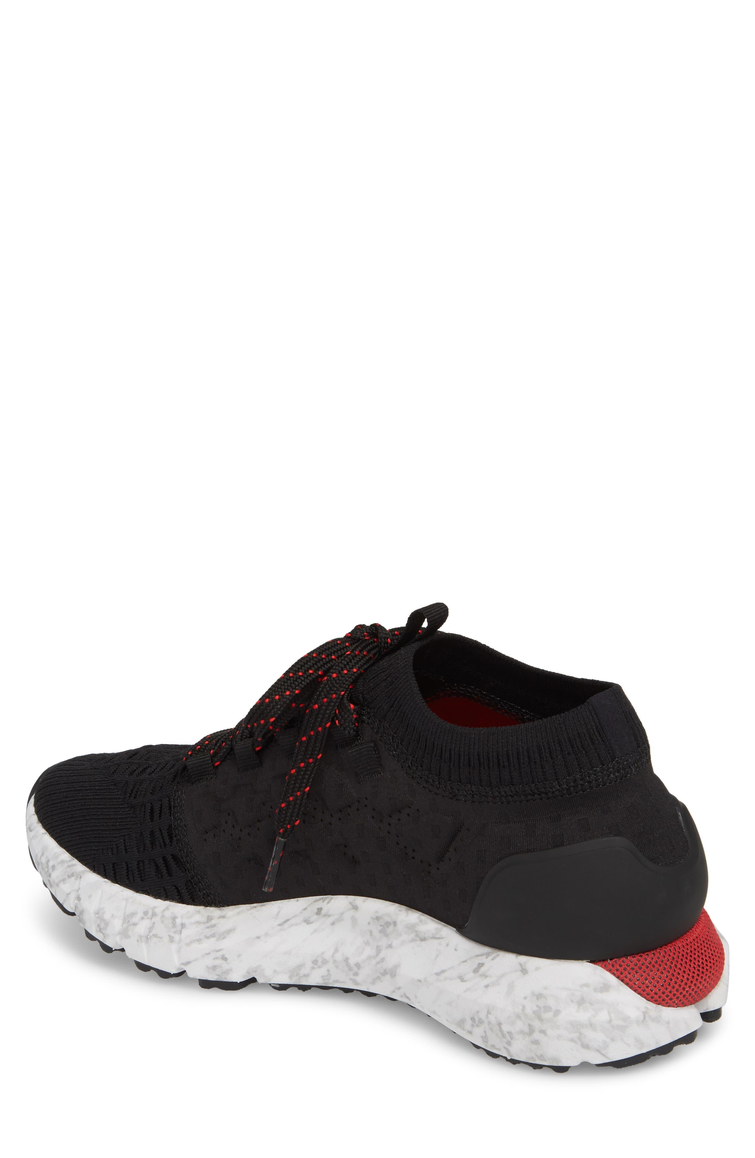 HOVR Phantom NC Sneaker,                             Alternate thumbnail 2, color,                             Black/ White/ Red