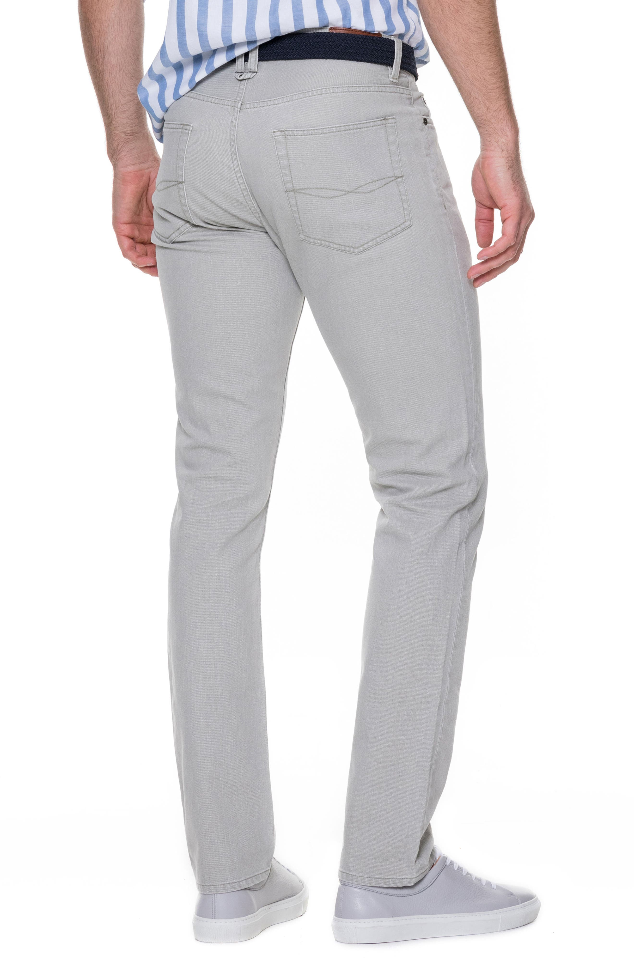 Tolson Straight Leg Jeans,                             Alternate thumbnail 2, color,                             Barley