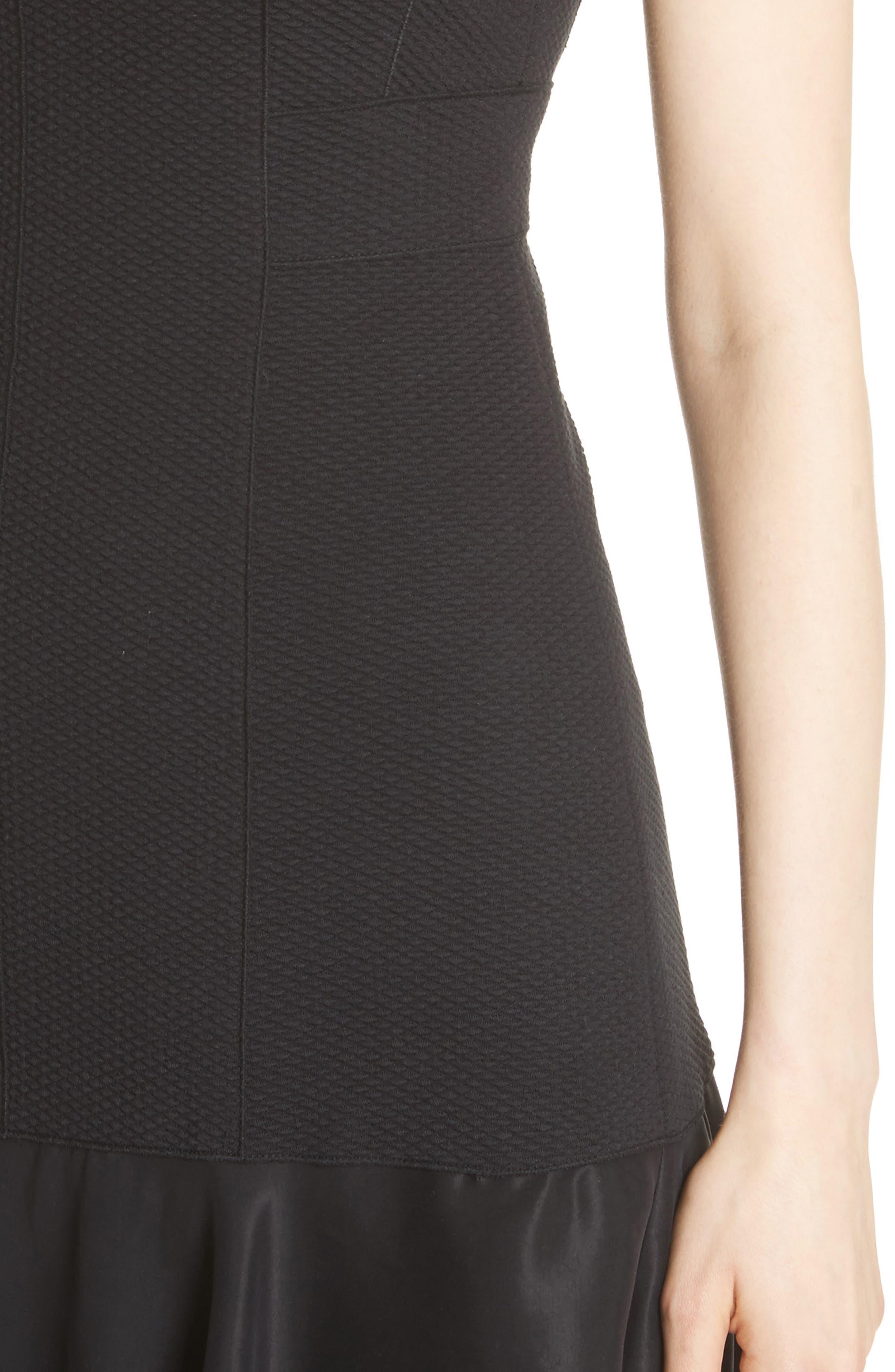 Terri Dress,                             Alternate thumbnail 4, color,                             Black