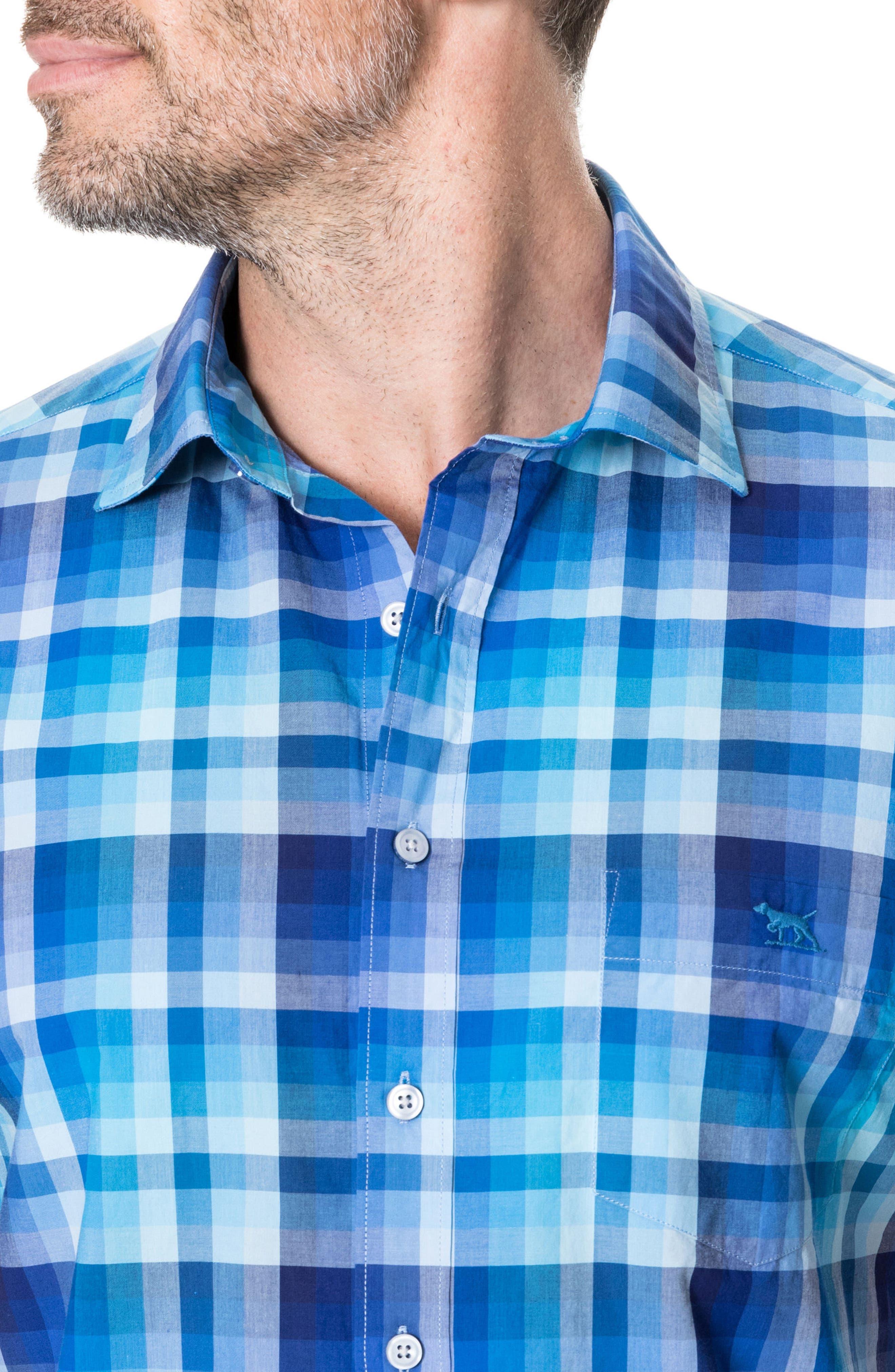 Elderslie Regular Fit Sport Shirt,                             Alternate thumbnail 2, color,                             Ocean