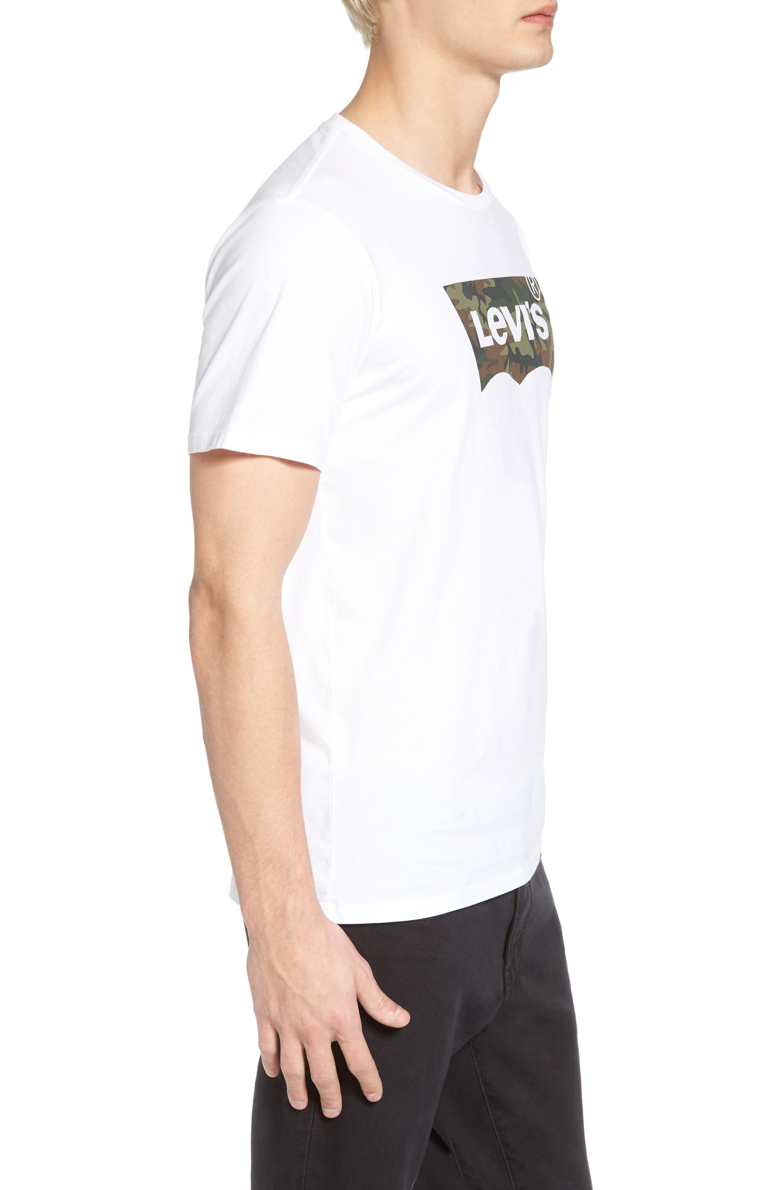 Housemark Graphic T-Shirt,                             Alternate thumbnail 3, color,                             Housemark White