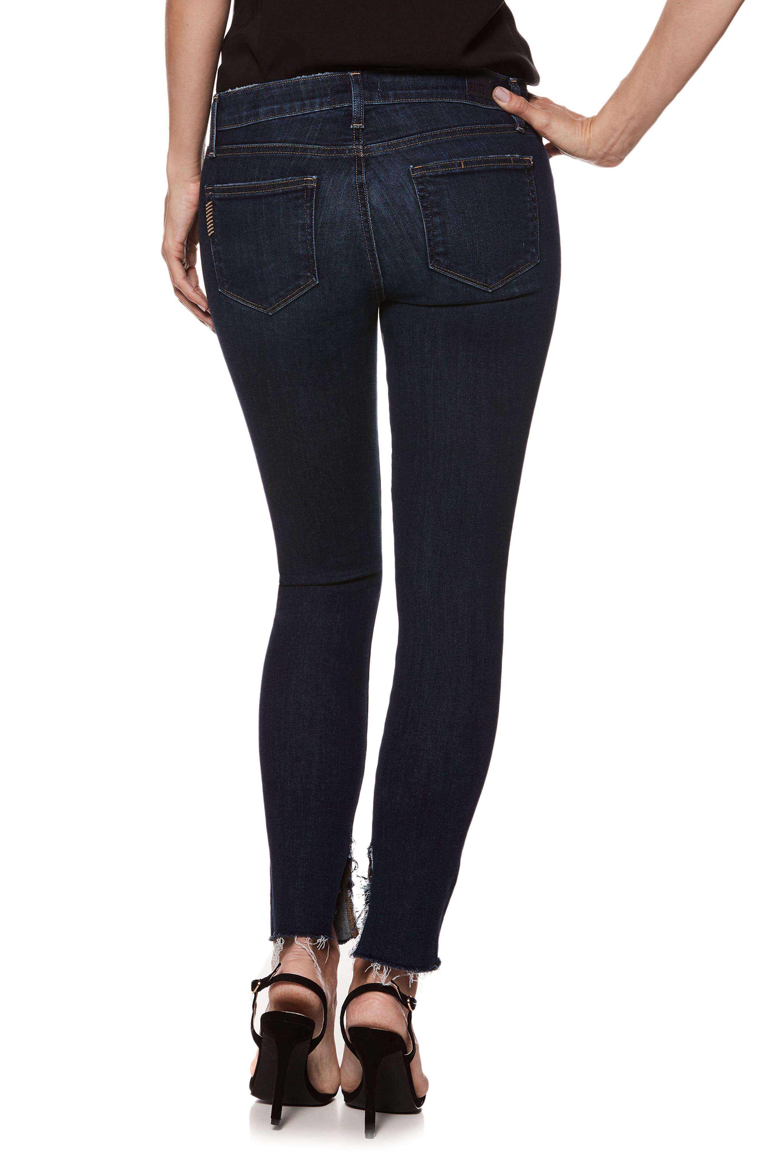 Transcend Vintage - Verdugo Ankle Ultra Skinny Jeans,                             Alternate thumbnail 2, color,                             Mazzetti