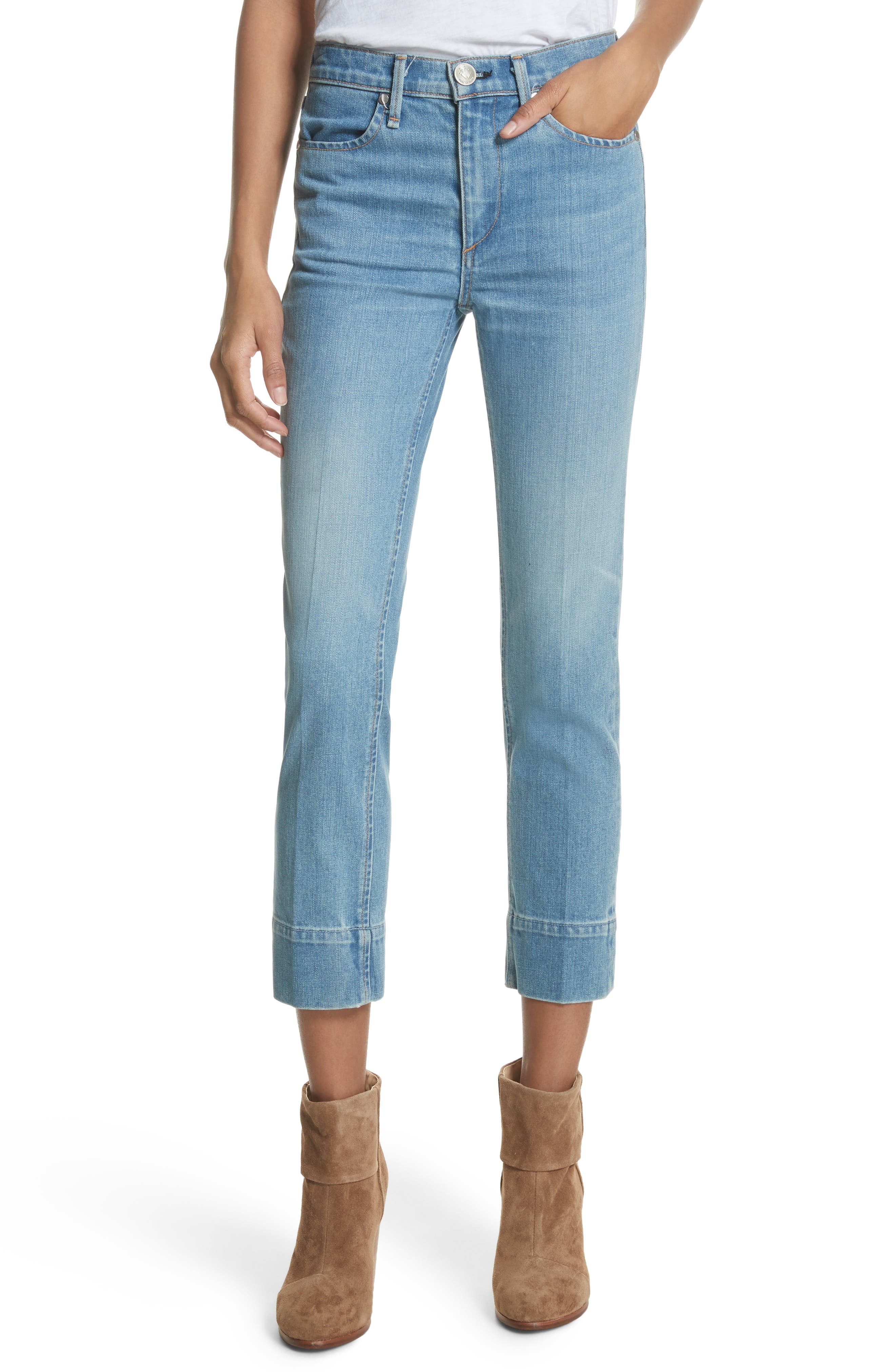 rag & bone/JEAN Ankle Cigarette Jeans (Bunnys)