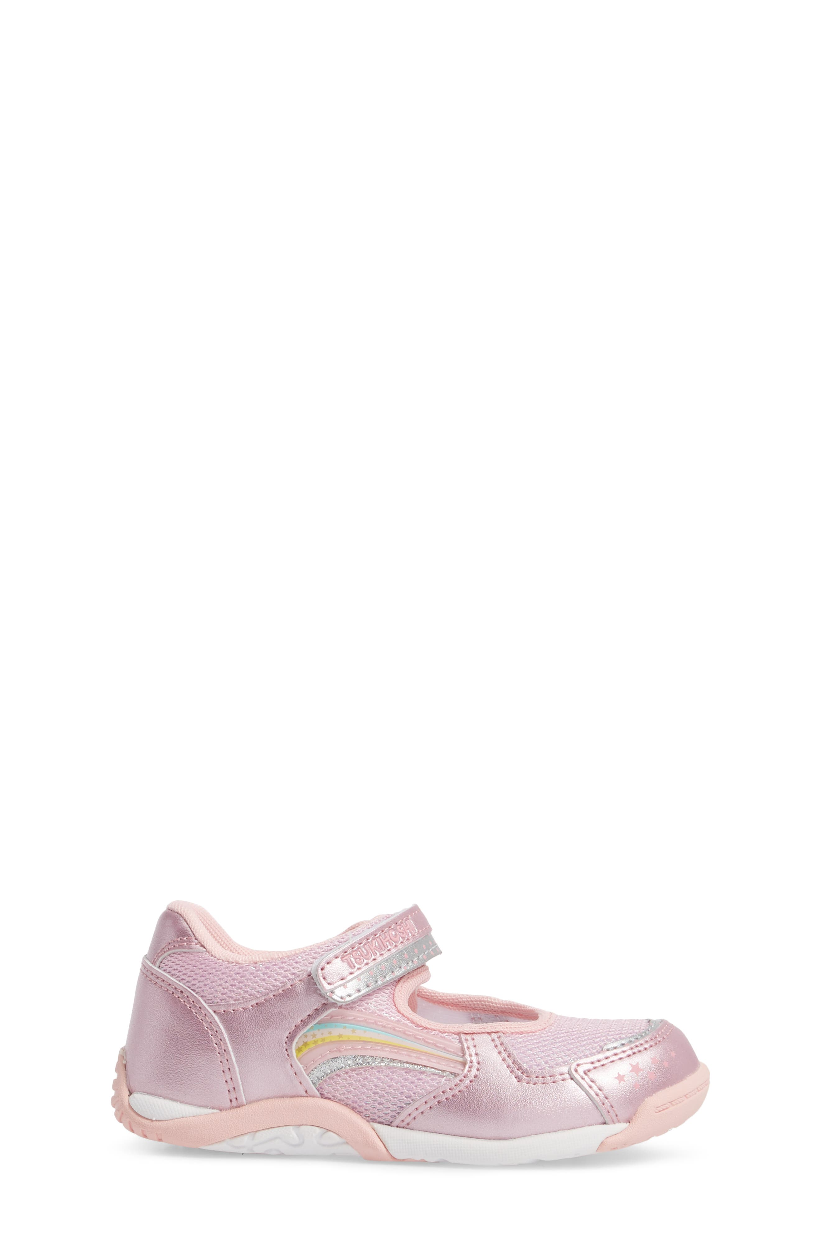 Twinkle Washable Sneaker,                             Alternate thumbnail 3, color,                             Rose/ Pink